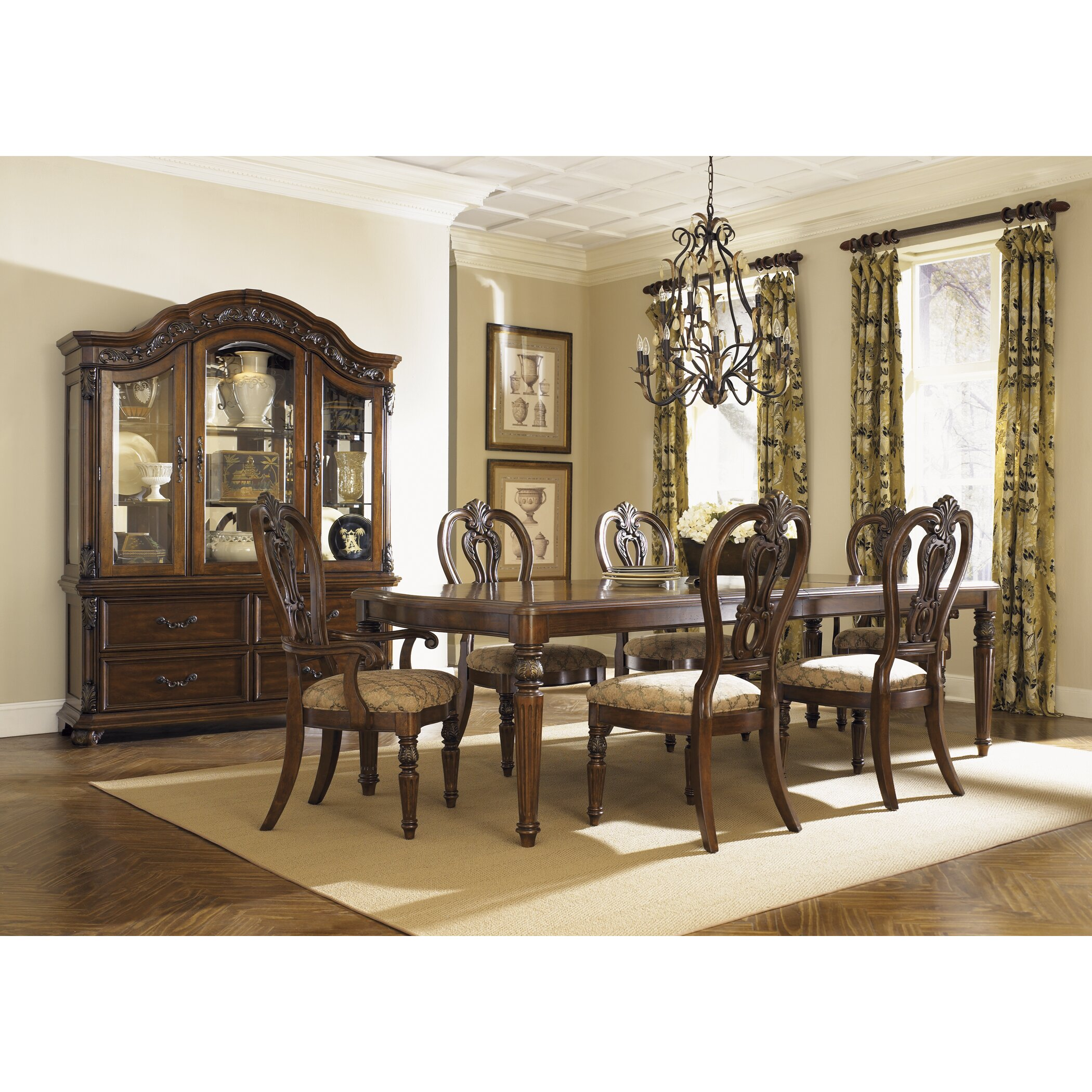 Brussels Traditional Dining Room Set 7 Piece Set: Astoria Grand Cavas 7 Piece Dining Set & Reviews