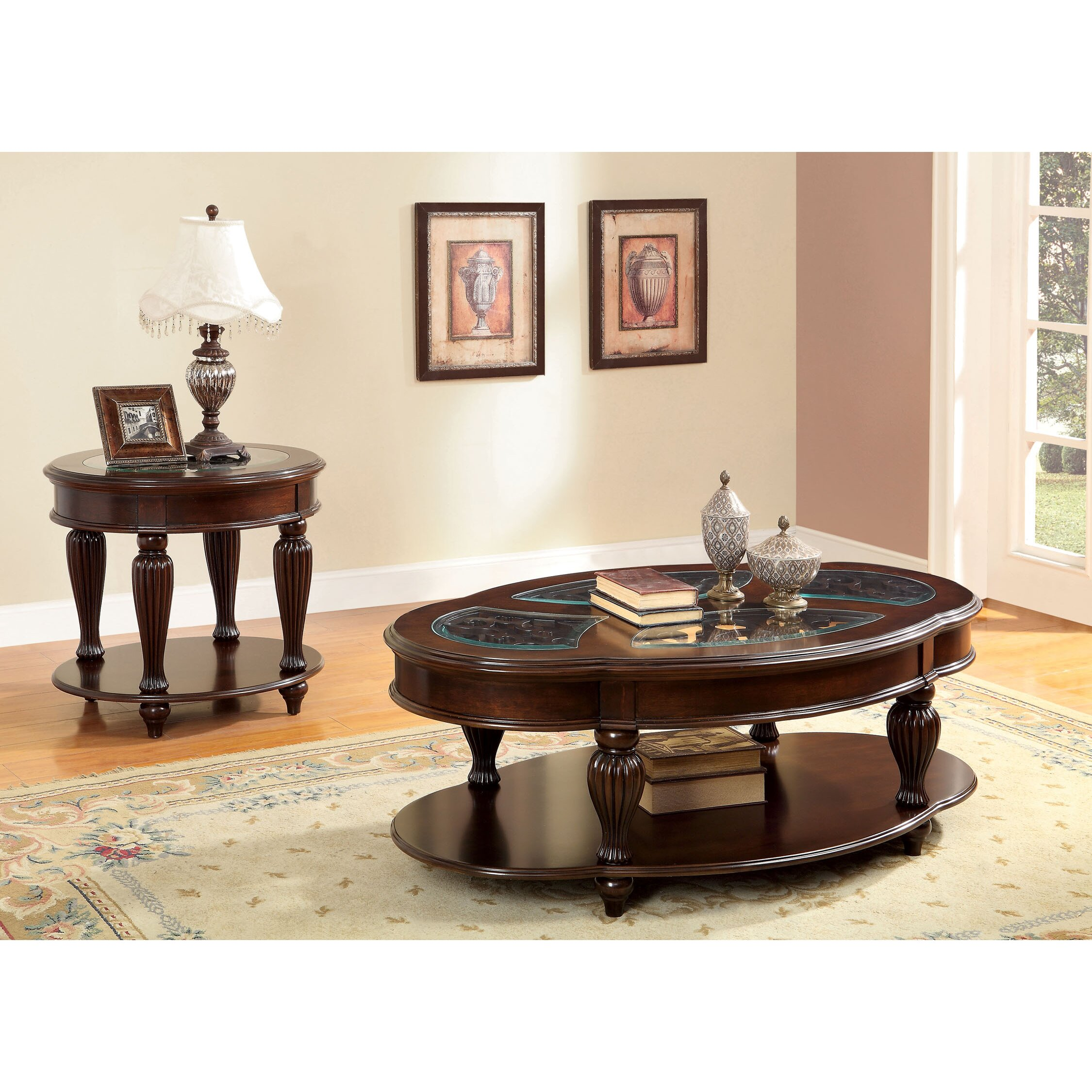 Astoria Grand Rhuddlan Coffee Table Set & Reviews
