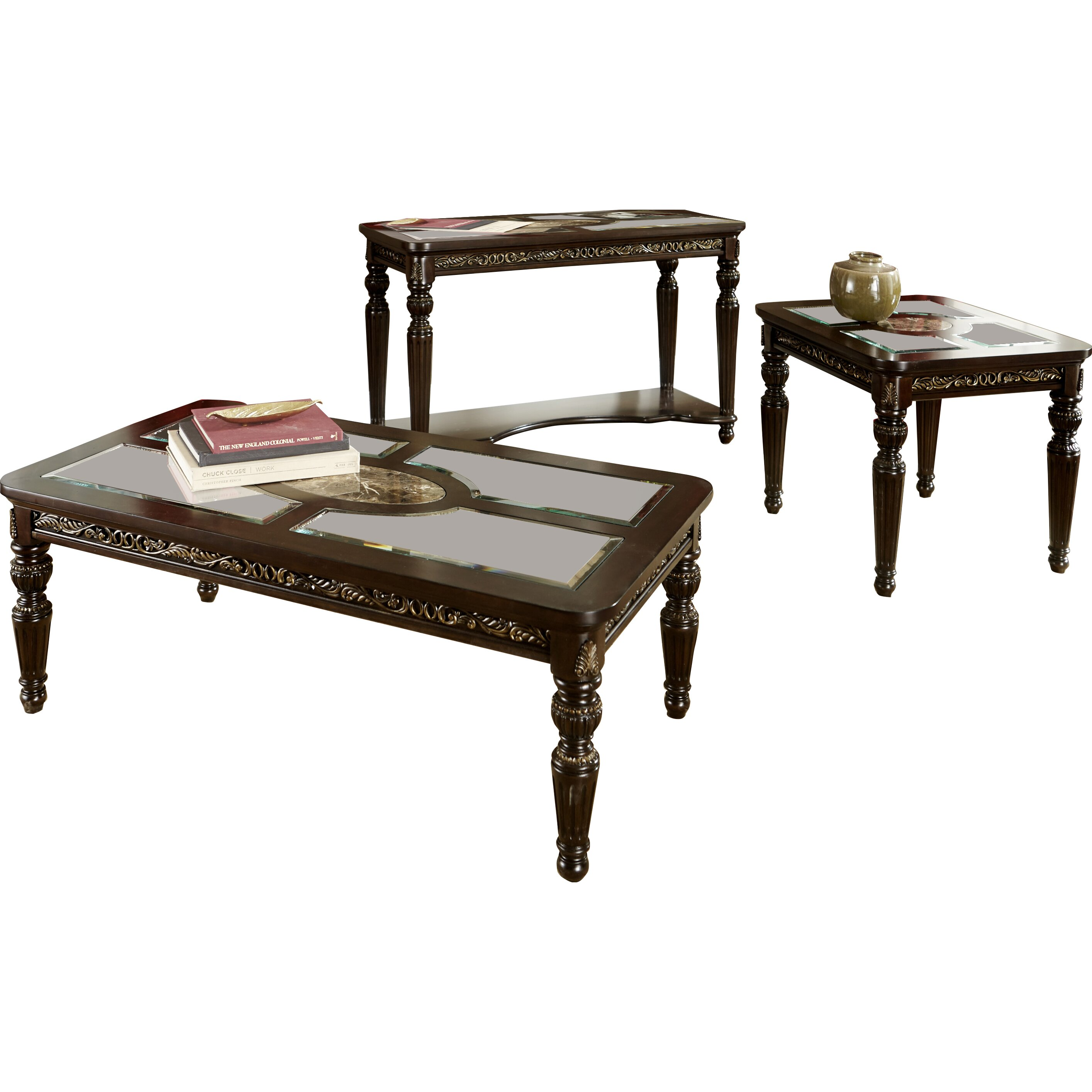 Astoria Grand Coffee Table Set & Reviews