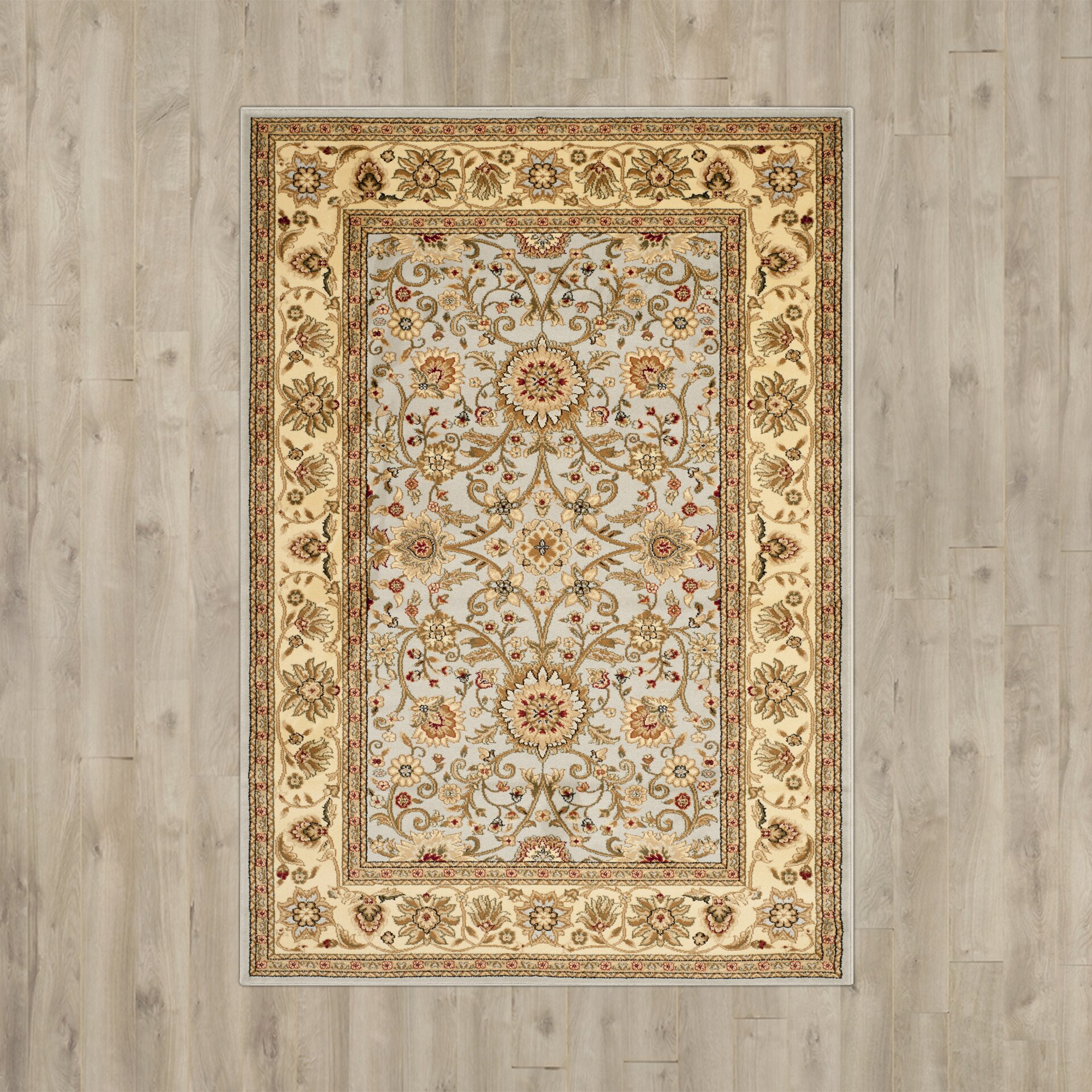 Astoria grand ellesborough gray beige area rug reviews for Grey and tan rug