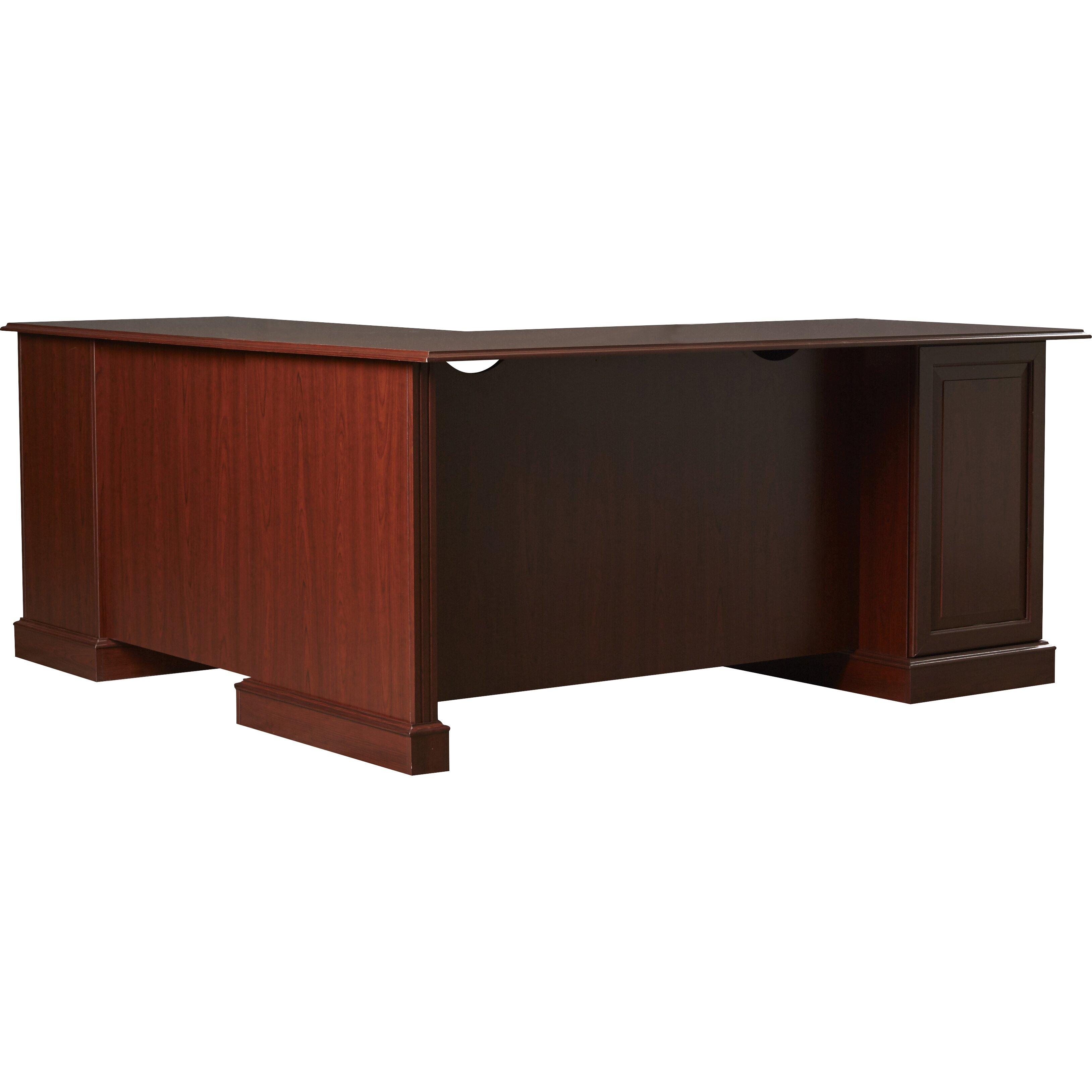 astoria grand cowdray 71 quot l shaped executive l desk reviews wayfair