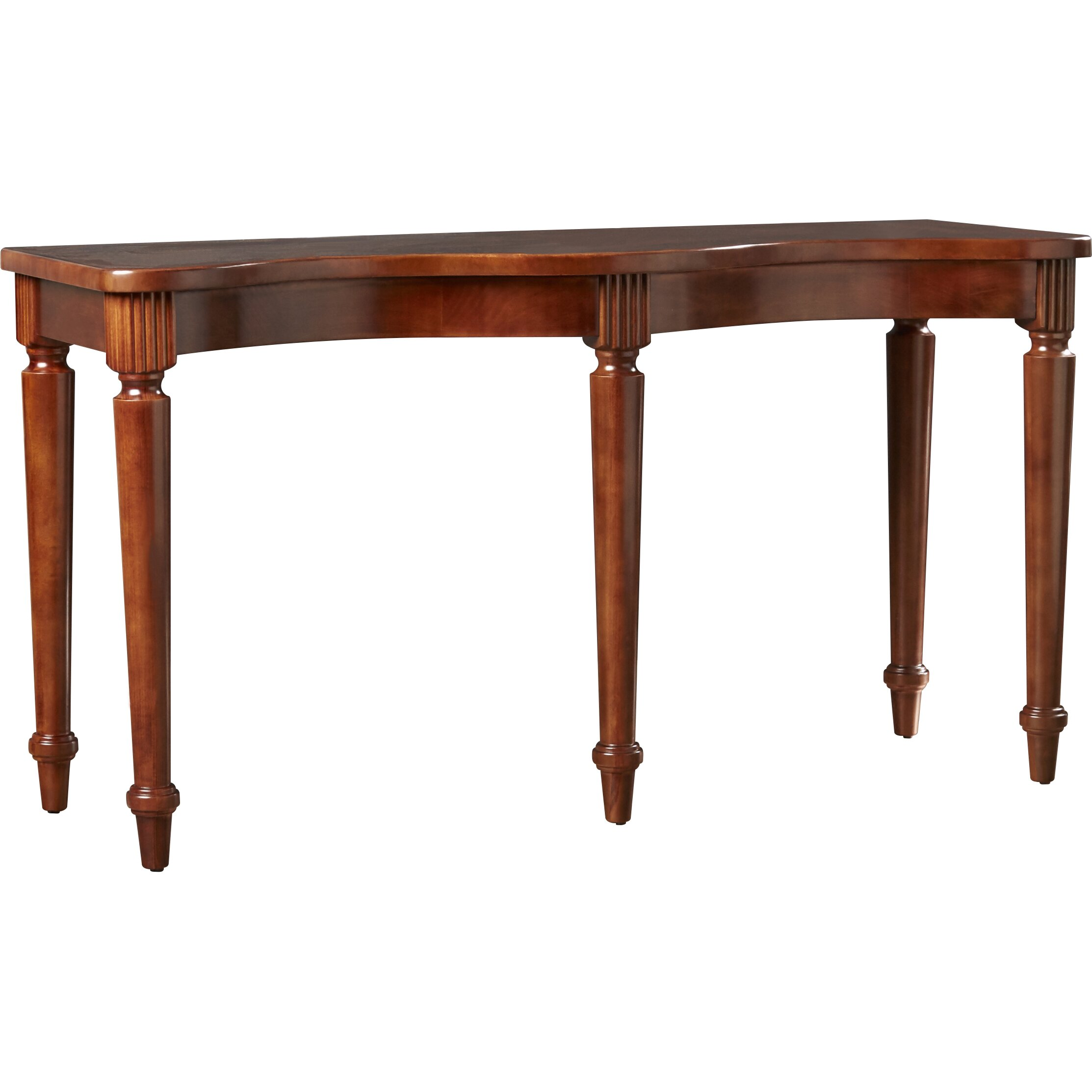 Astoria grand lavinia console table wayfair for Grande table