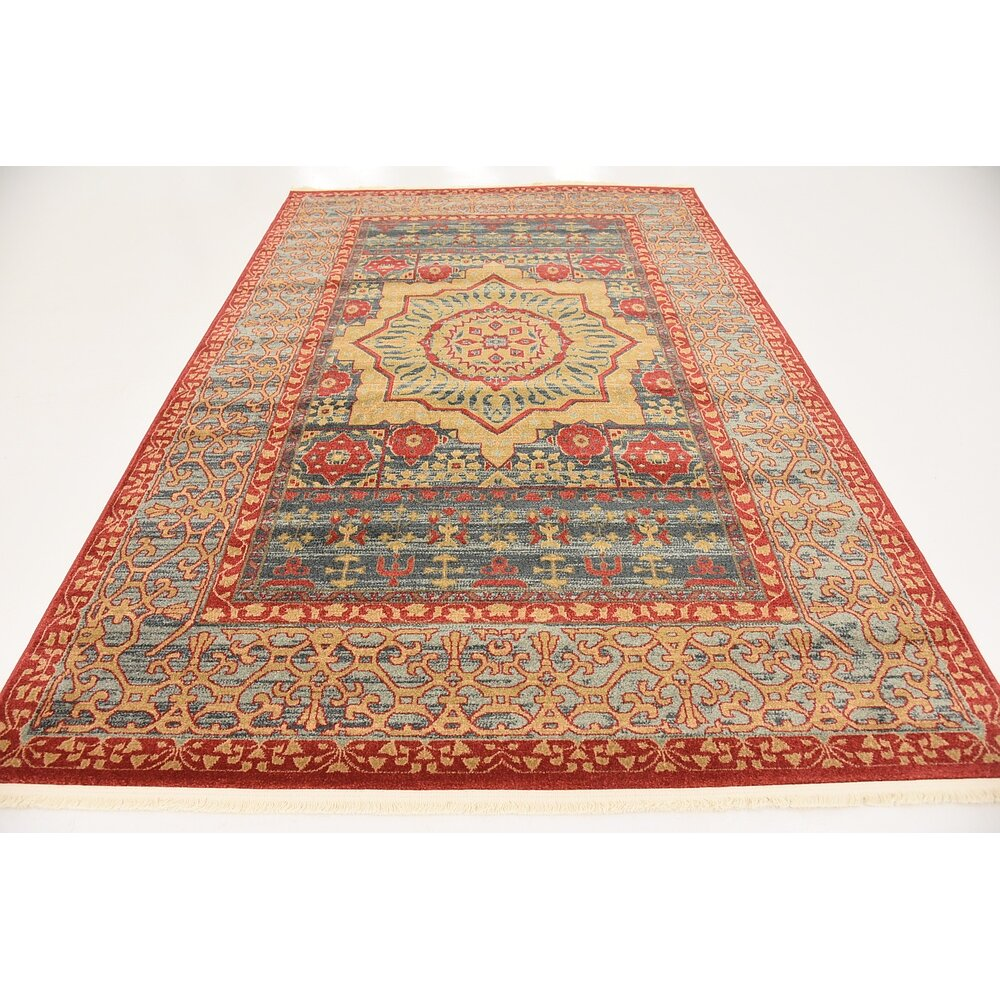 red area rug astoria grand laurelwood navy area rug amp reviews wayfair 13188