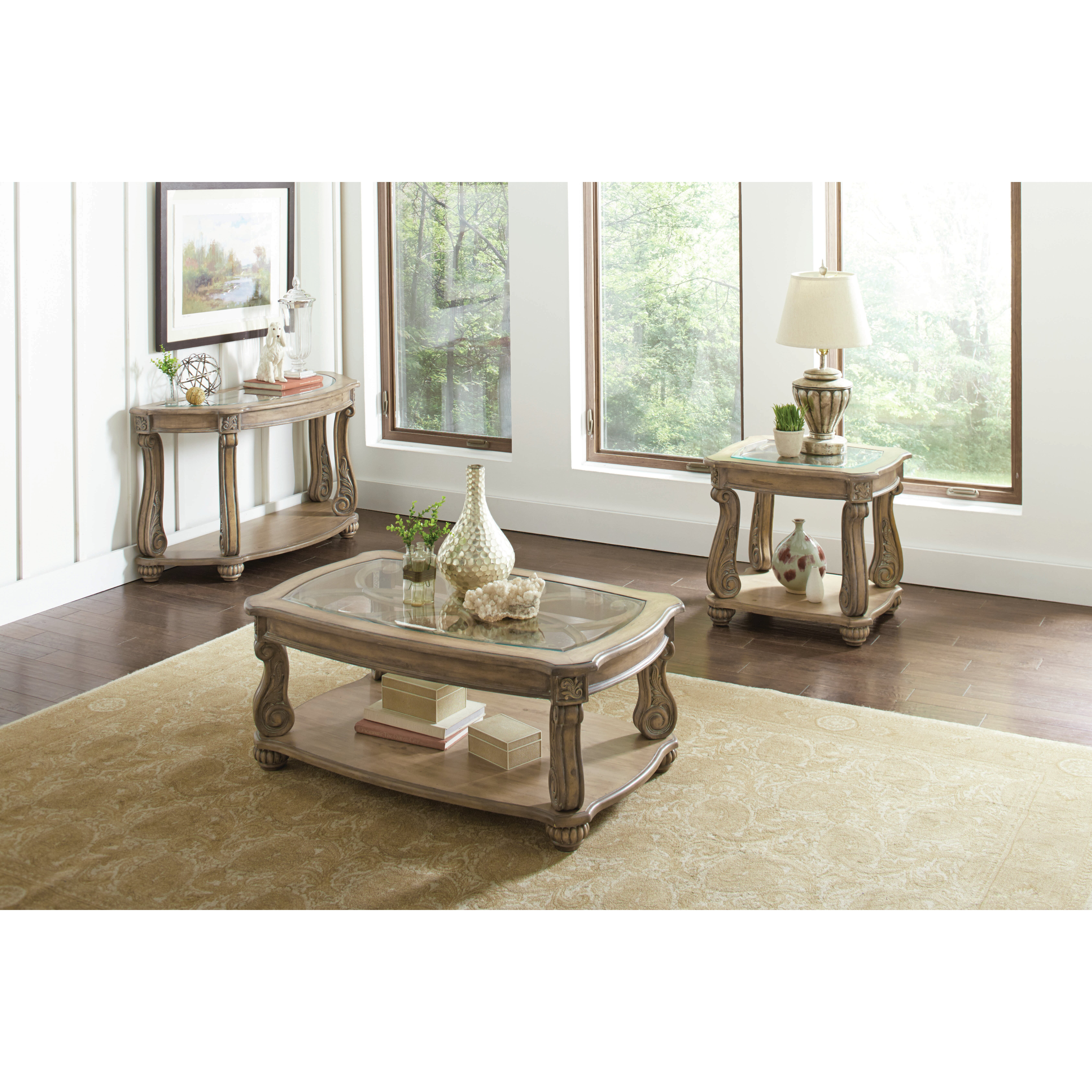 Astoria Grand Holloway Coffee Table & Reviews