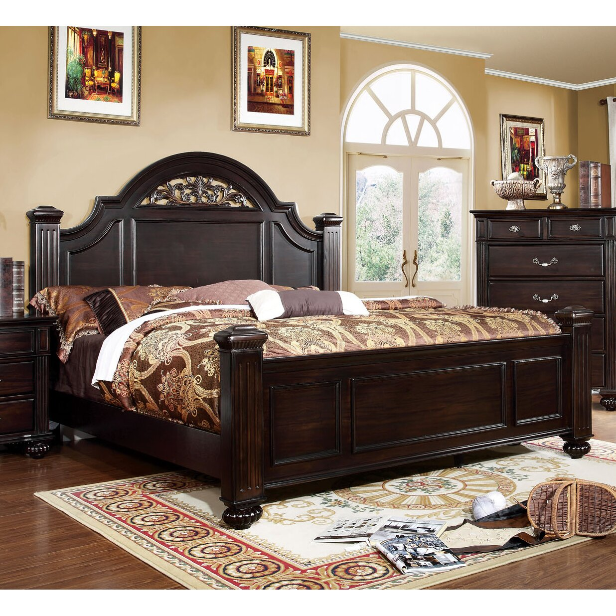 Astoria Grand Wesleyan Panel Customizable Bedroom Set Amp Reviews Wayfair