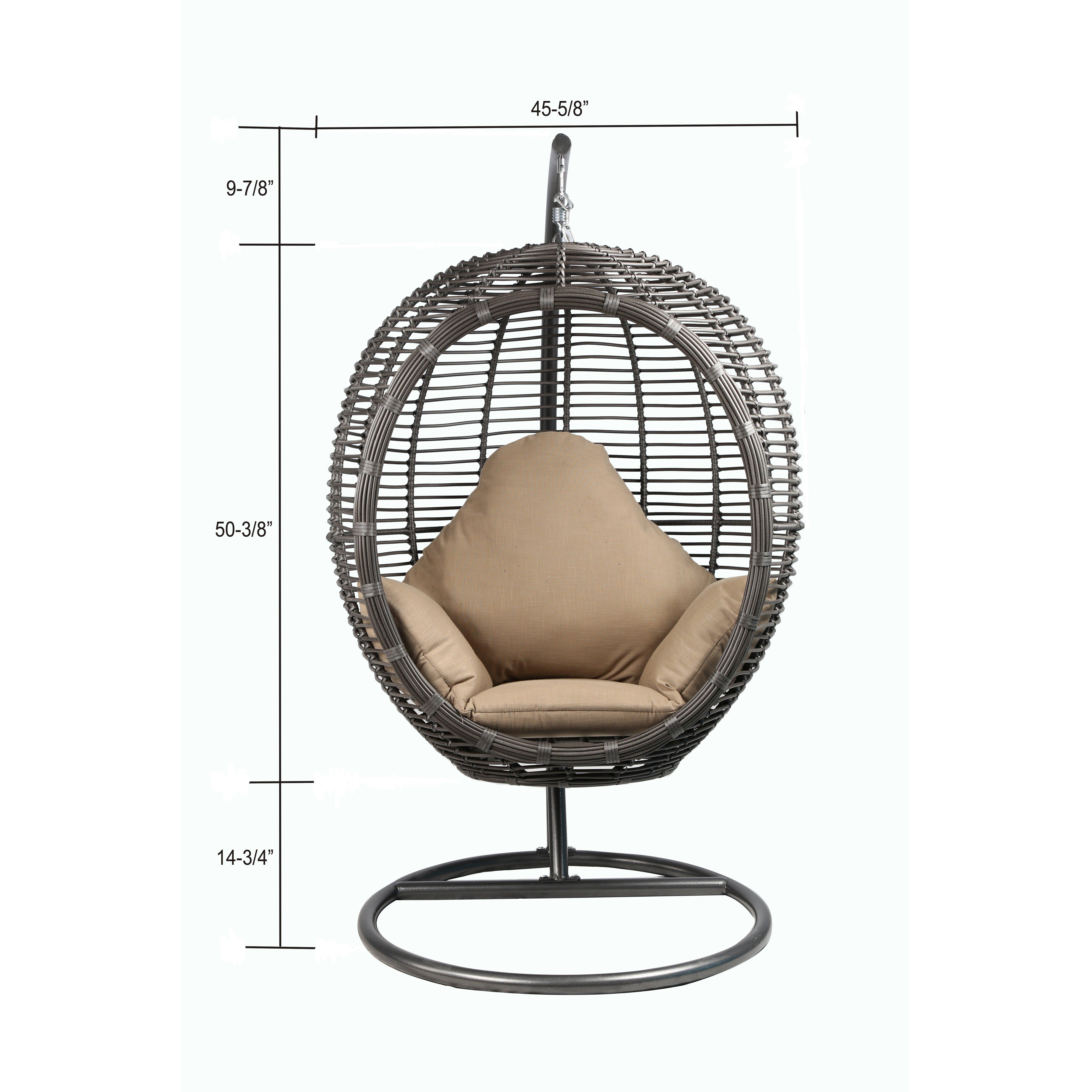 Baner Garden Chaise Lounge With Cushion Wayfair