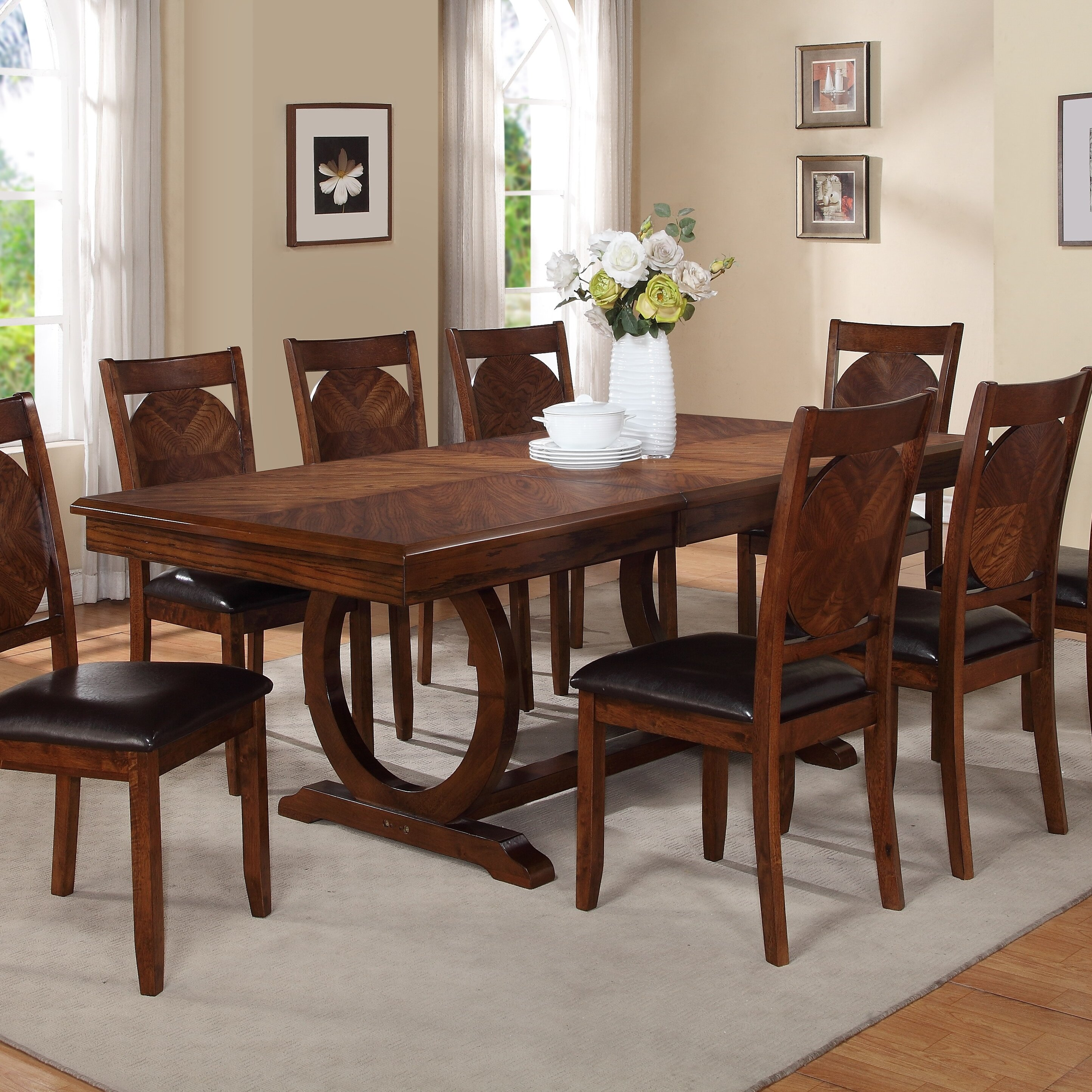Wayfair Table: World Menagerie Kapoor Extendable Dining Table & Reviews