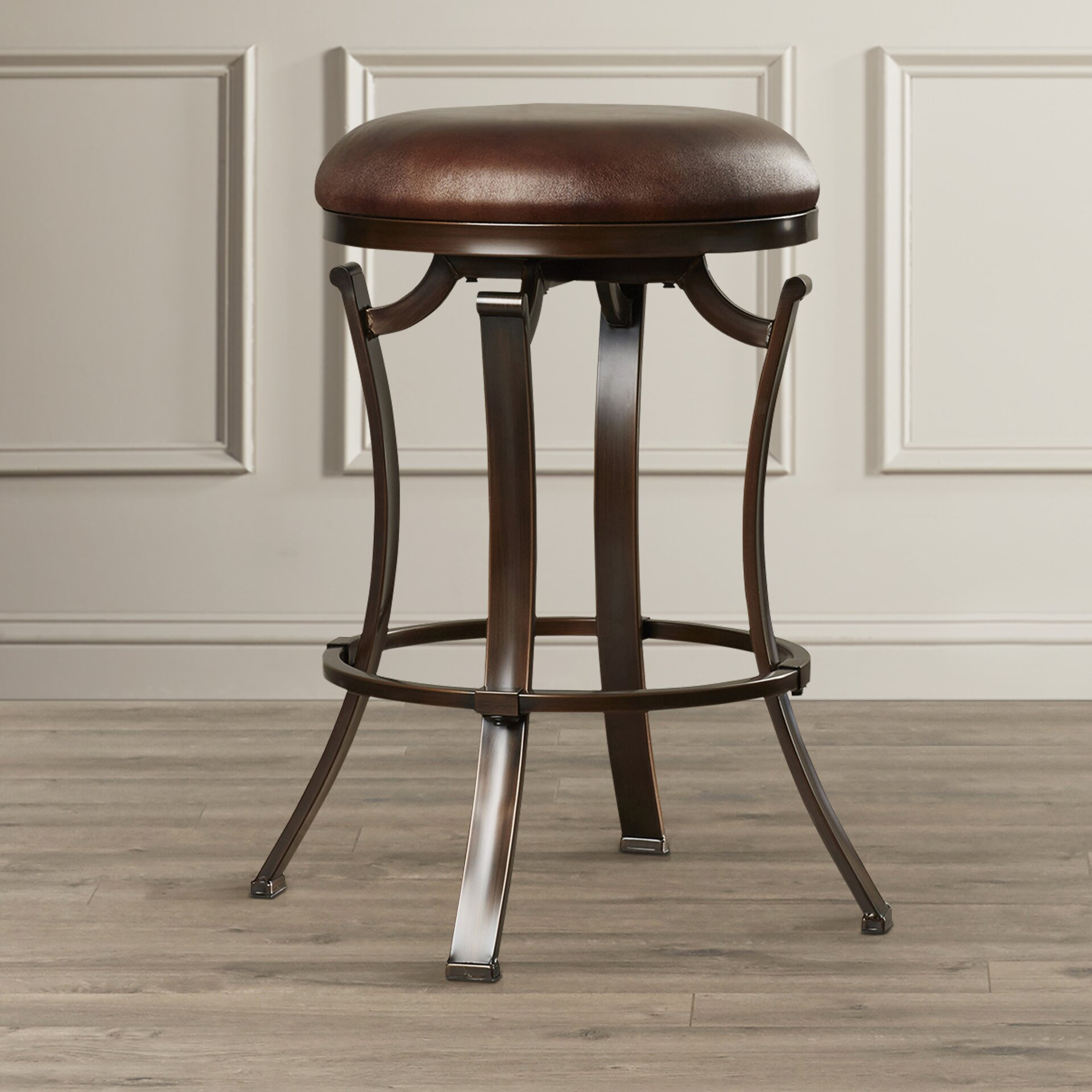 World Menagerie 26 Quot Swivel Bar Stool Amp Reviews Wayfair