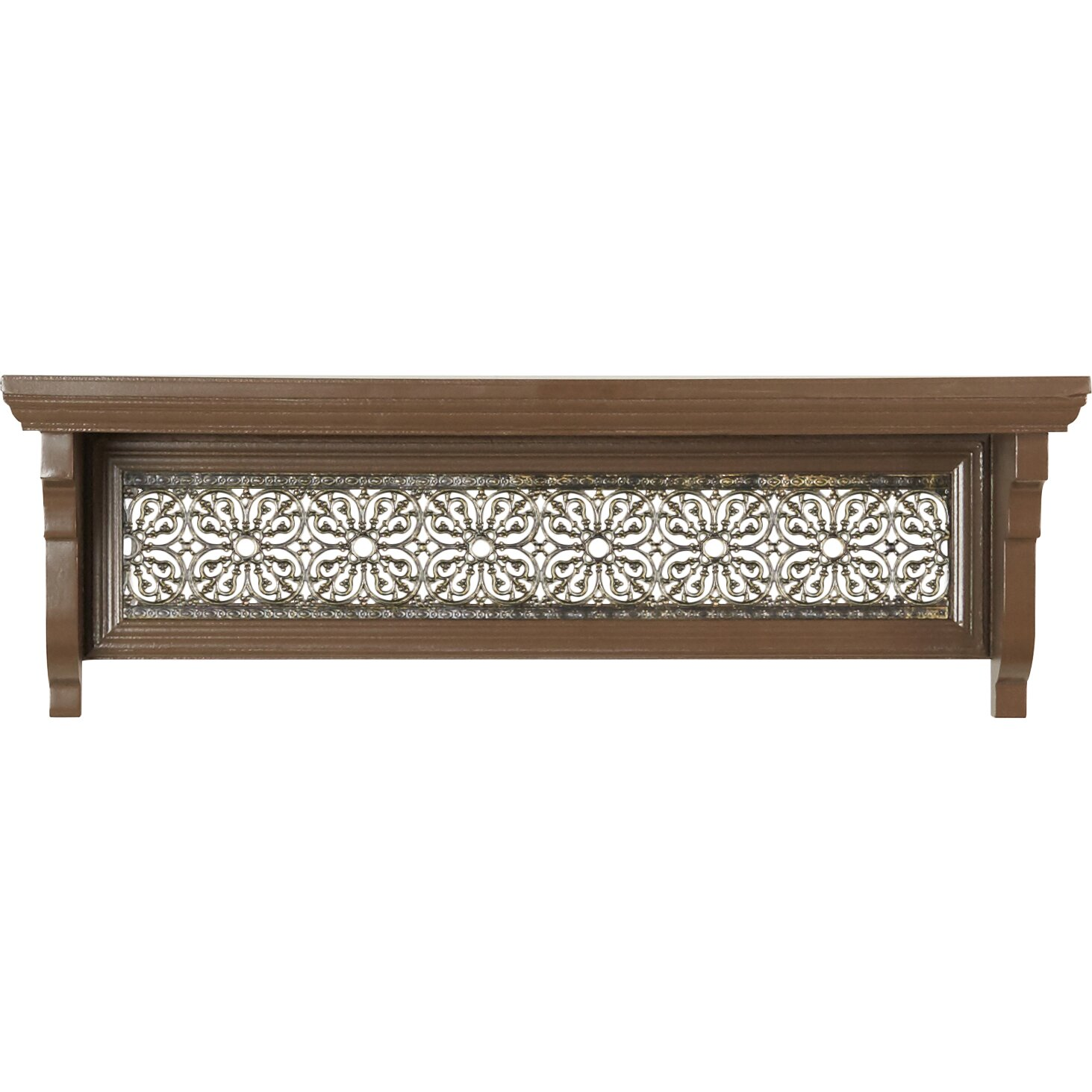 world menagerie decorative metal inlay shelf reviews