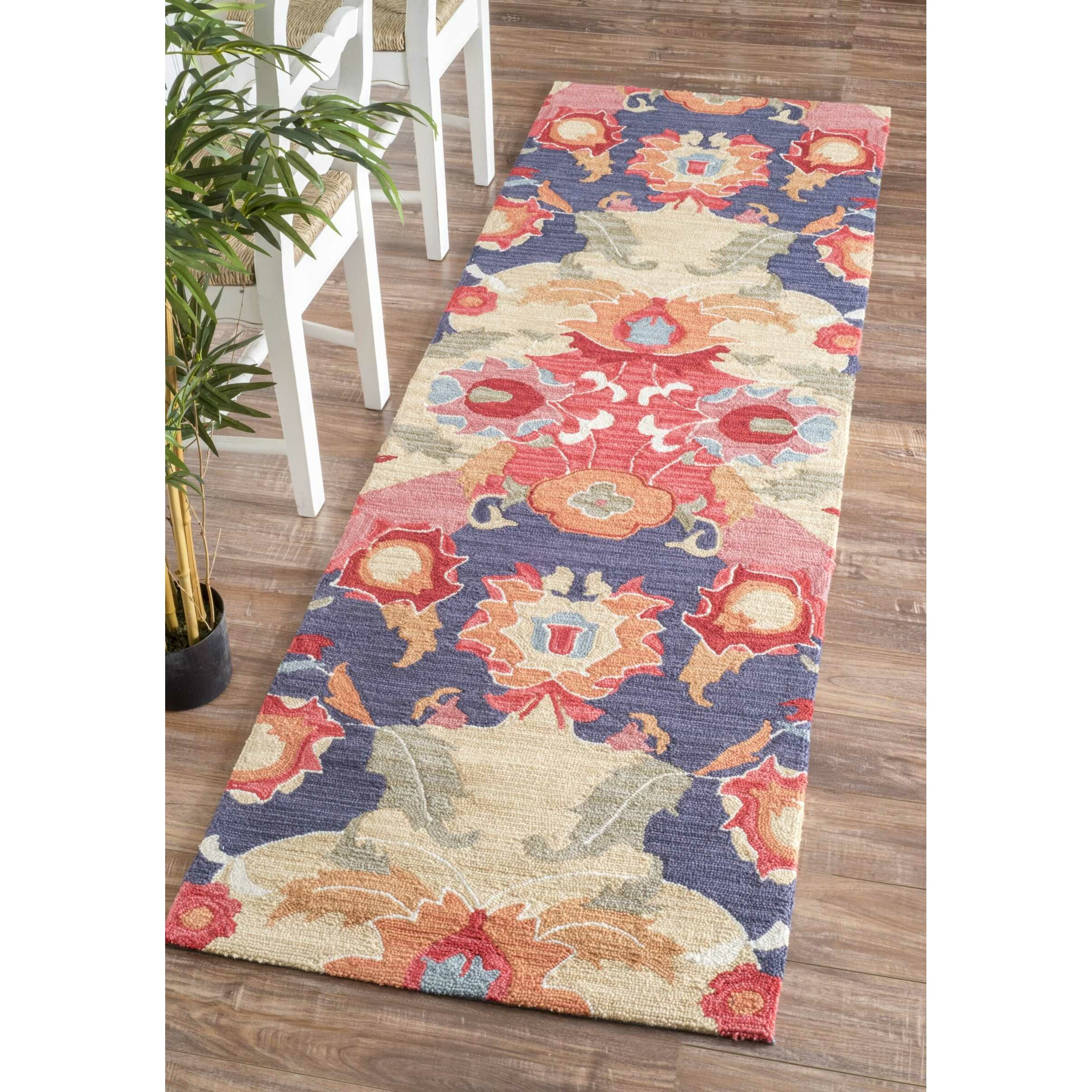 world menagerie maastricht red blue area rug reviews wayfair. Black Bedroom Furniture Sets. Home Design Ideas