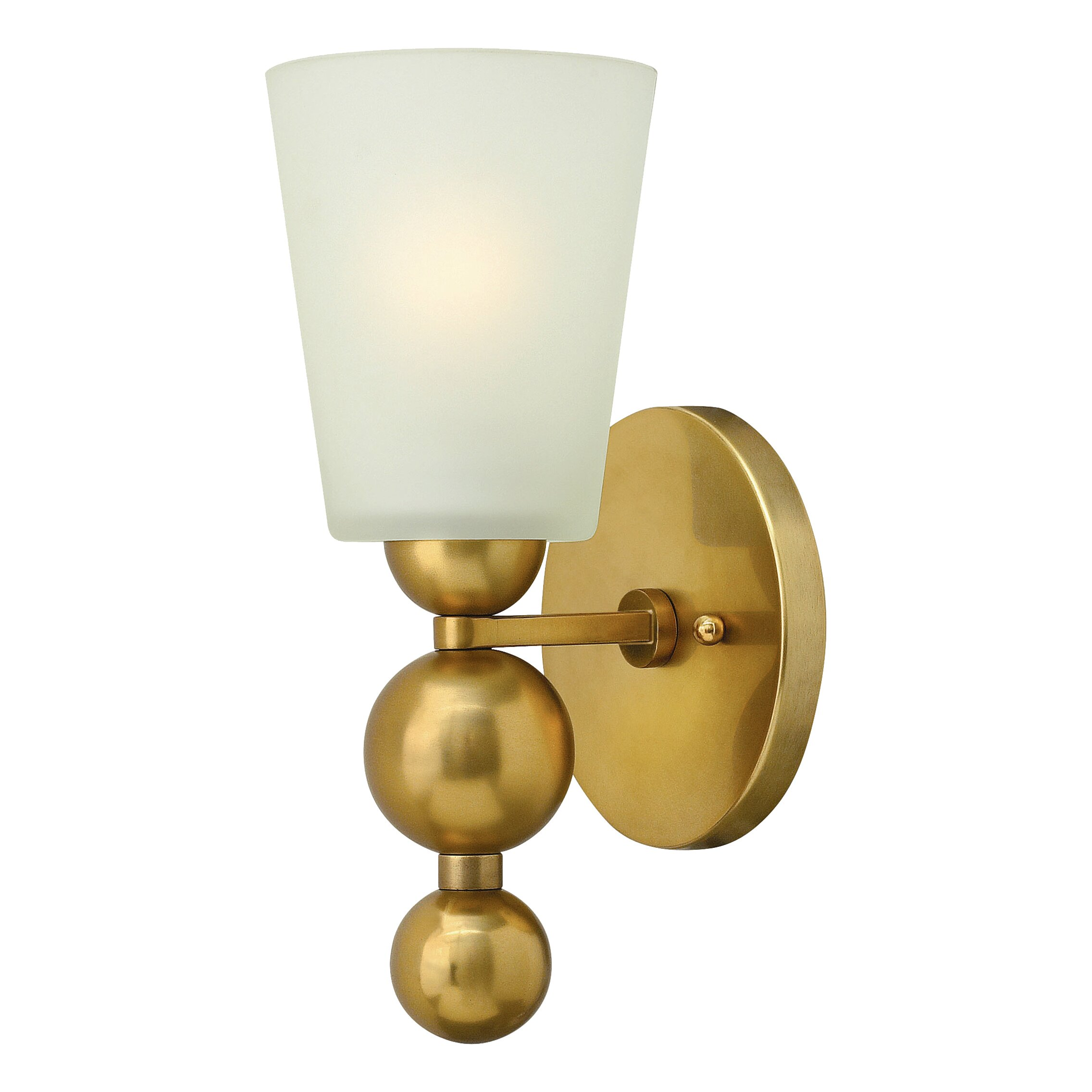 Wall Sconce With Magnifying Glass : Mercer41 Goulet 1 Light Wall Sconce & Reviews Wayfair