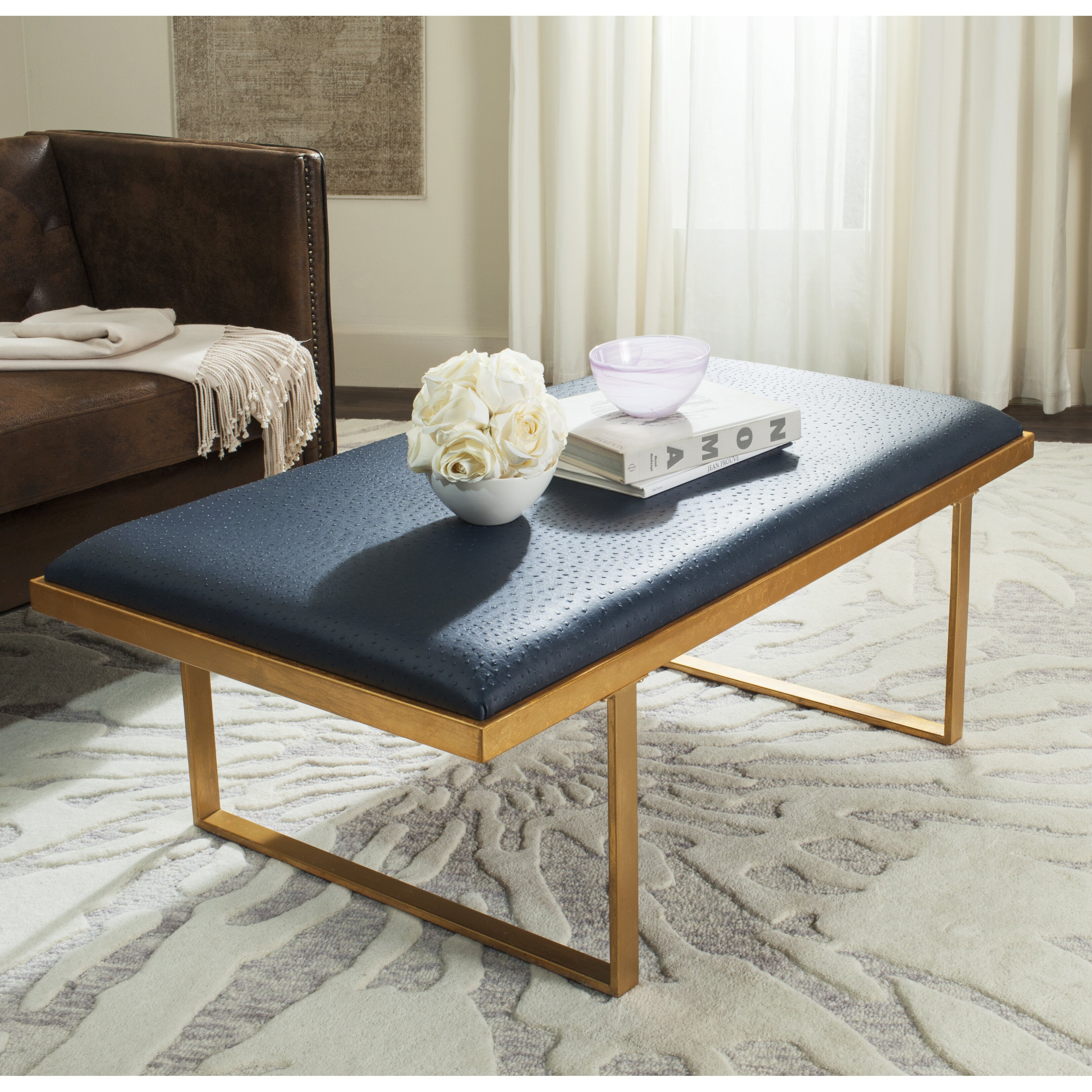 mercer41 richard coffee table reviews wayfair. Black Bedroom Furniture Sets. Home Design Ideas