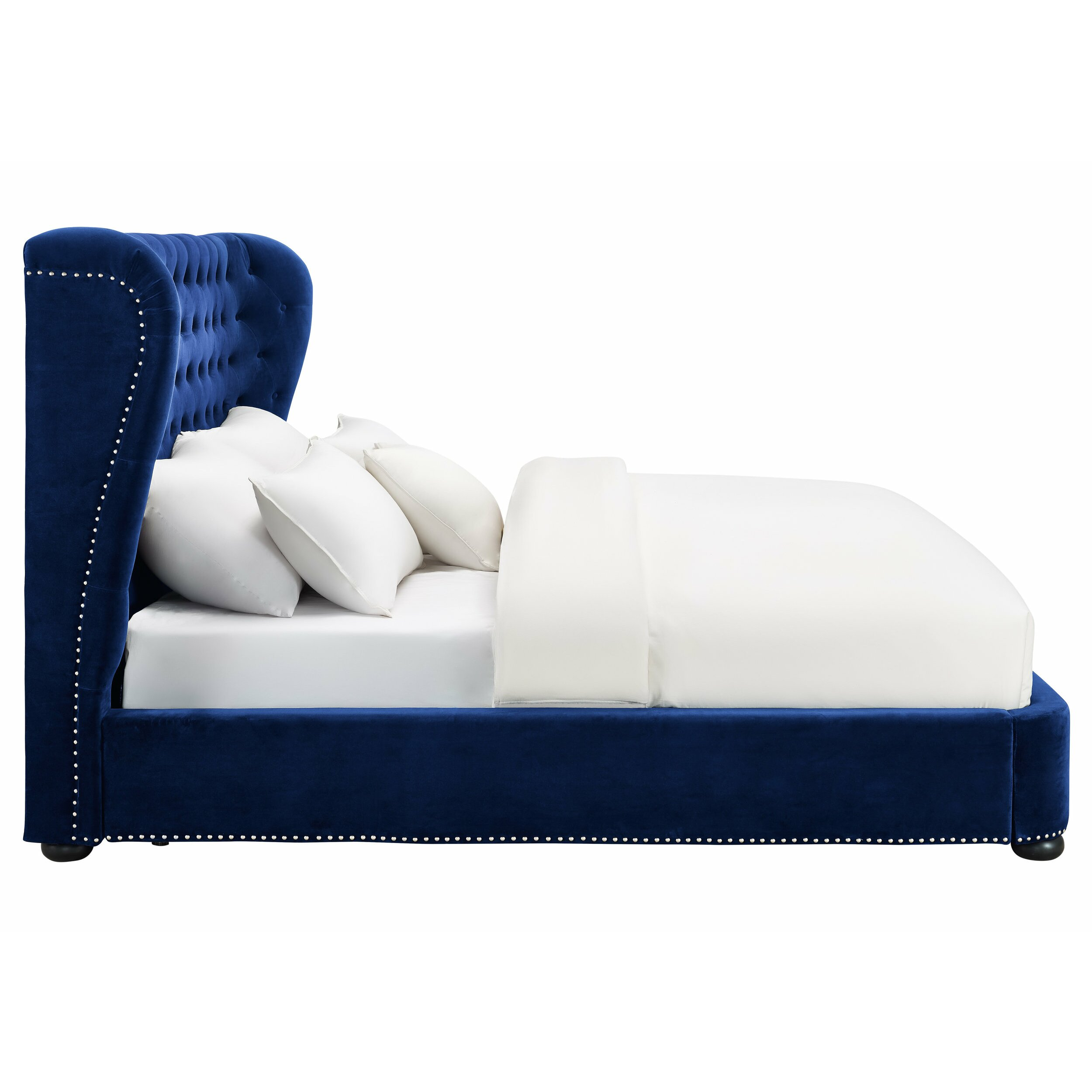 Tisch Upholstered Platform Bed