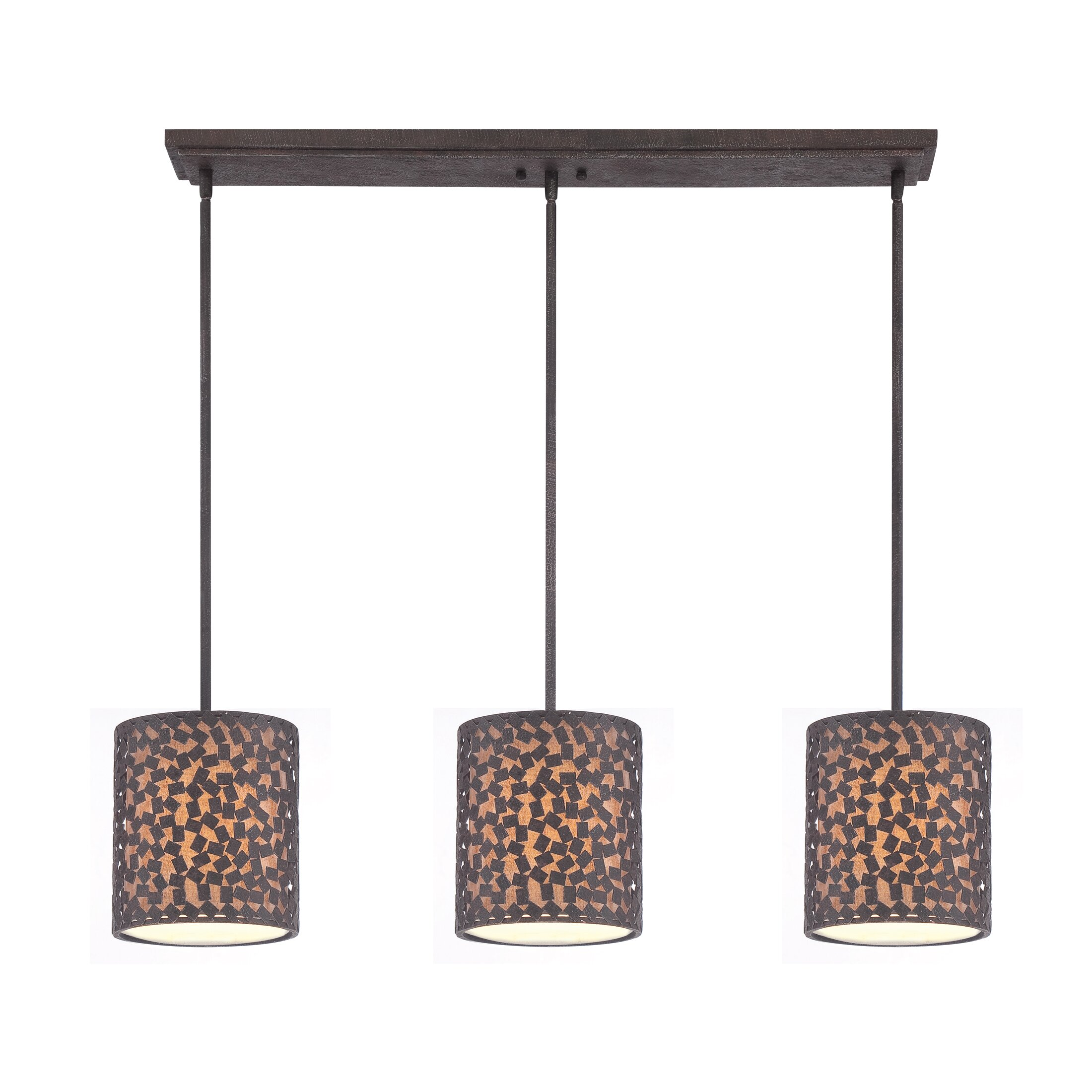 Mercer41 Whitby 3 Light Kitchen Island Pendant