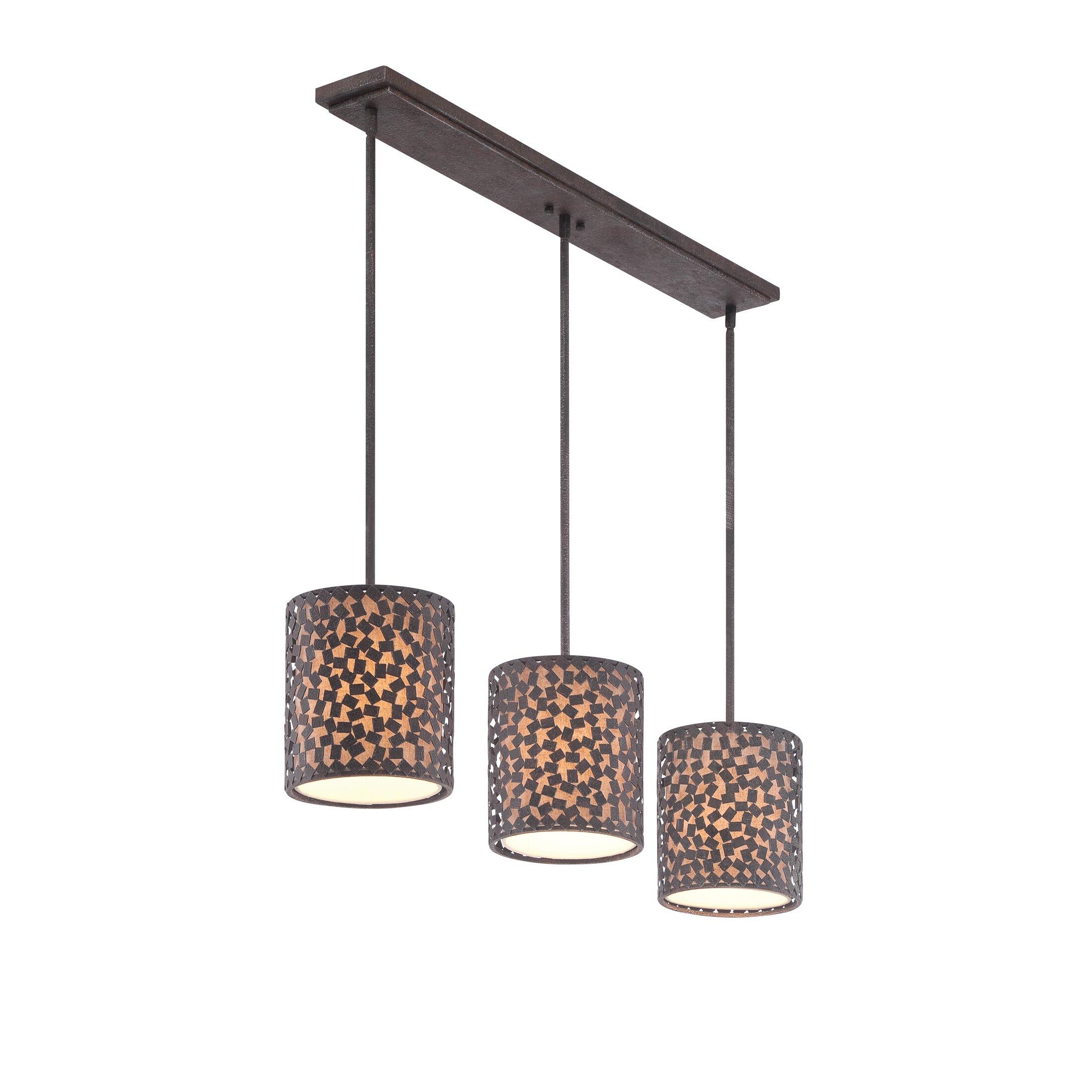 Glass Pendant Lights For Kitchen Island