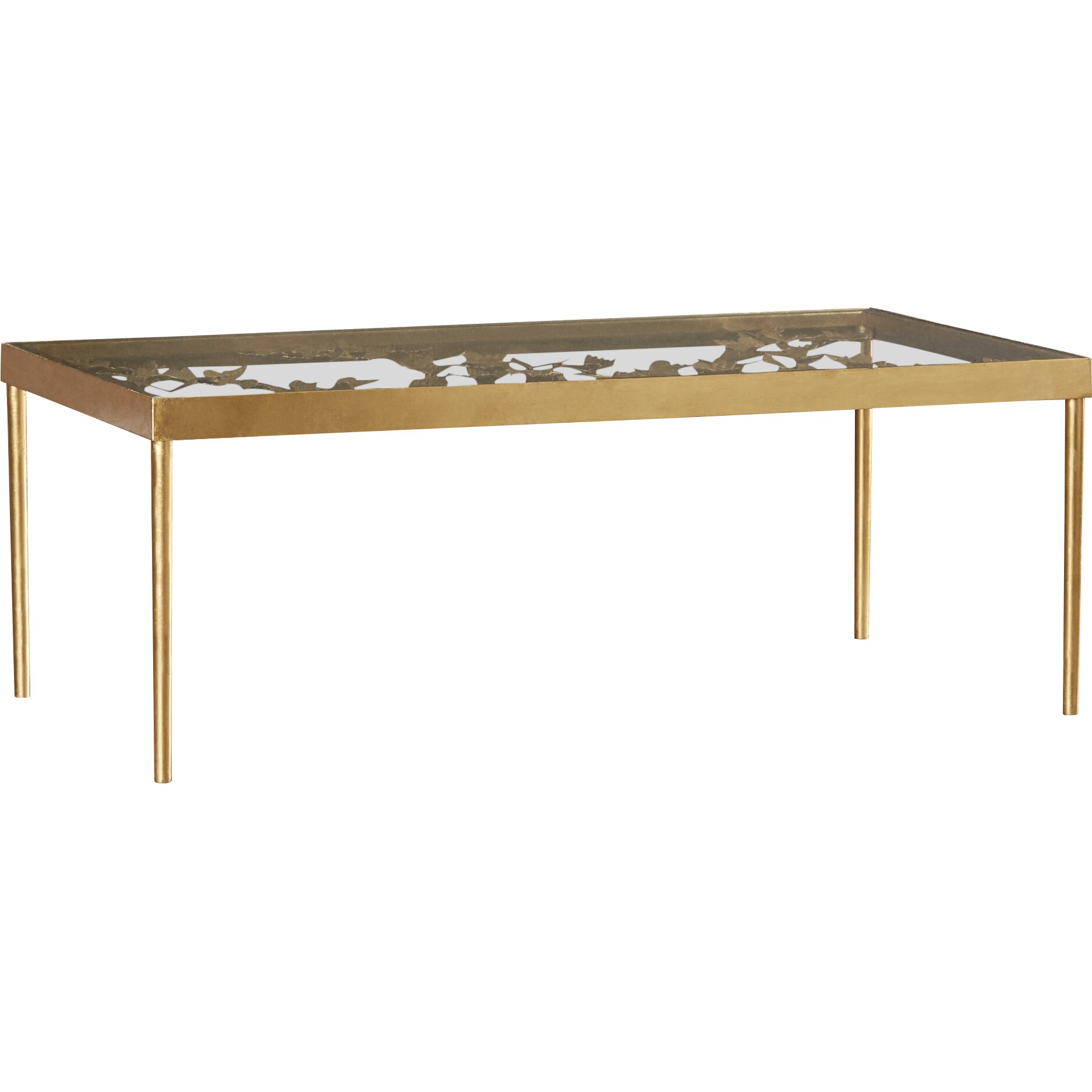 Mercer41 Acton Coffee Table With Tray Top Reviews Wayfair