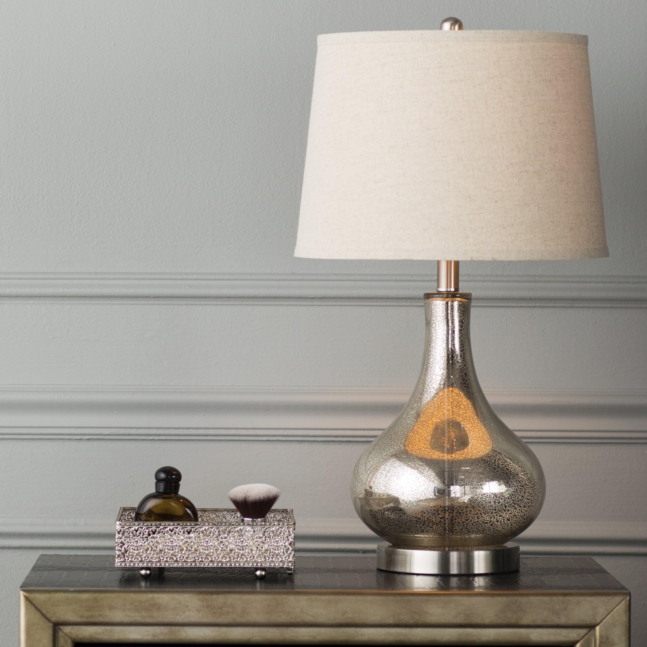 mercer41 stark 24 table lamp reviews wayfair. Black Bedroom Furniture Sets. Home Design Ideas