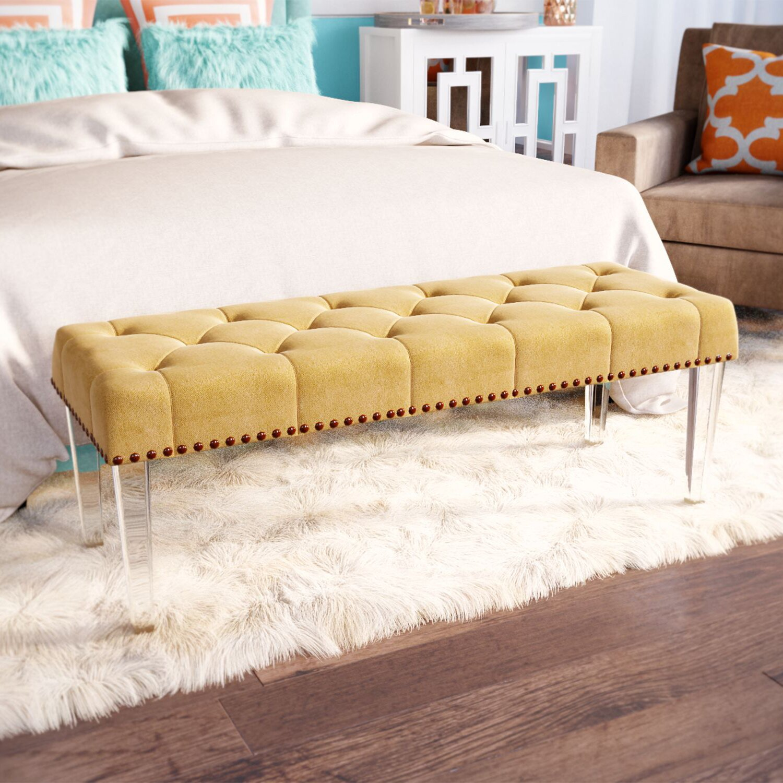 Mercer41 McCarthy Upholstered Bedroom Bench & Reviews