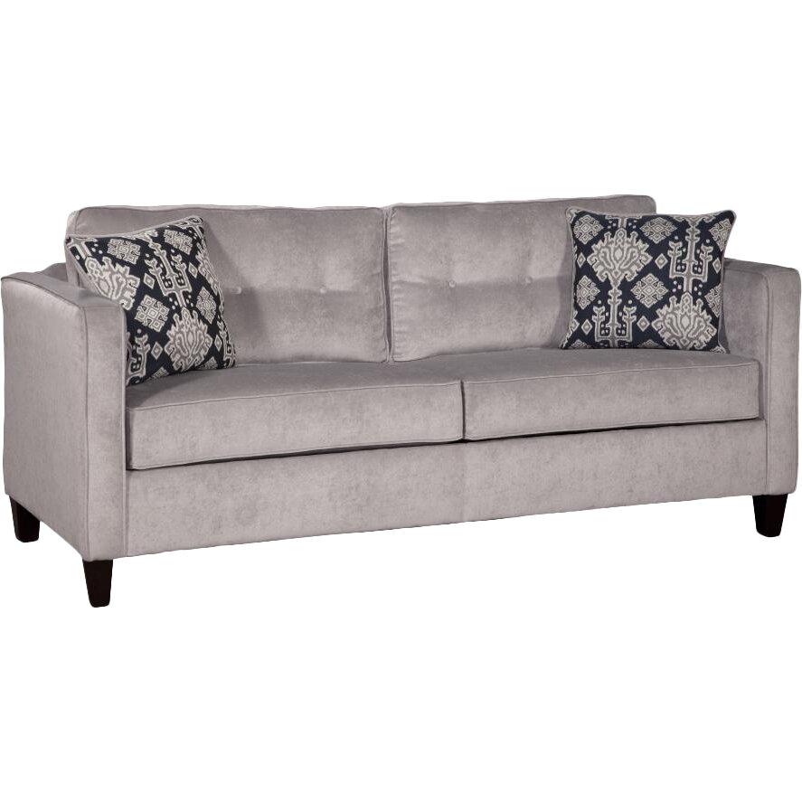 Mercer41 Serta Upholstery Mansfield Queen Sleeper Sofa & Reviews | Wayfair