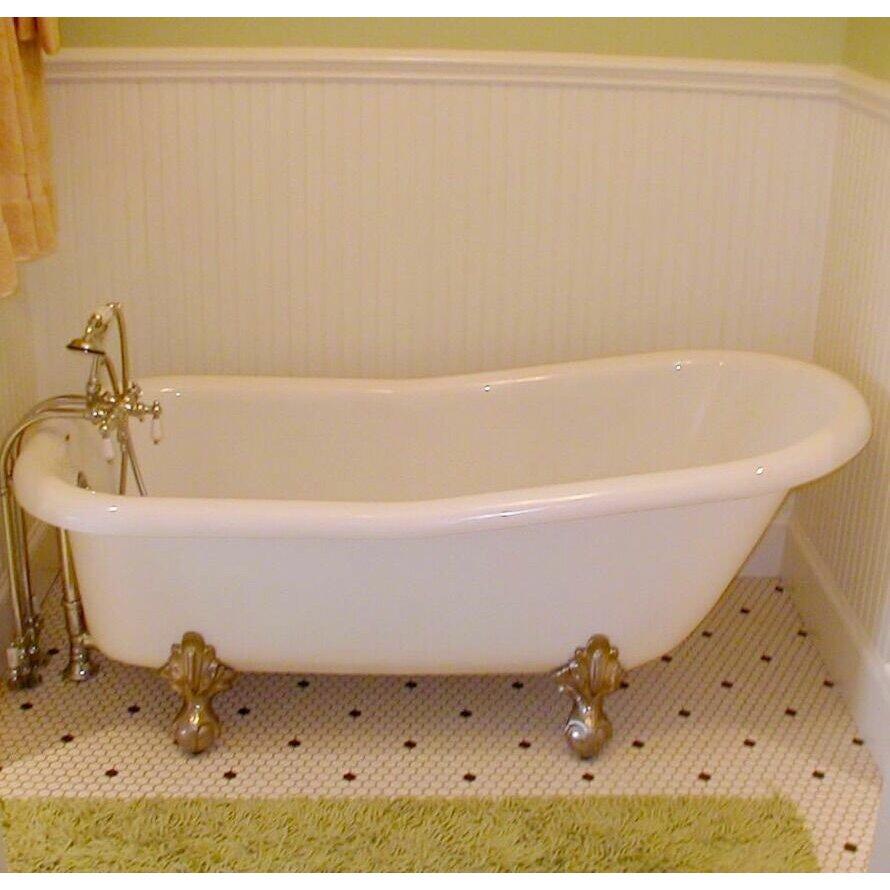 Restoria bathtub company imperial 66 x 30 bathtub wayfair for A table restoria