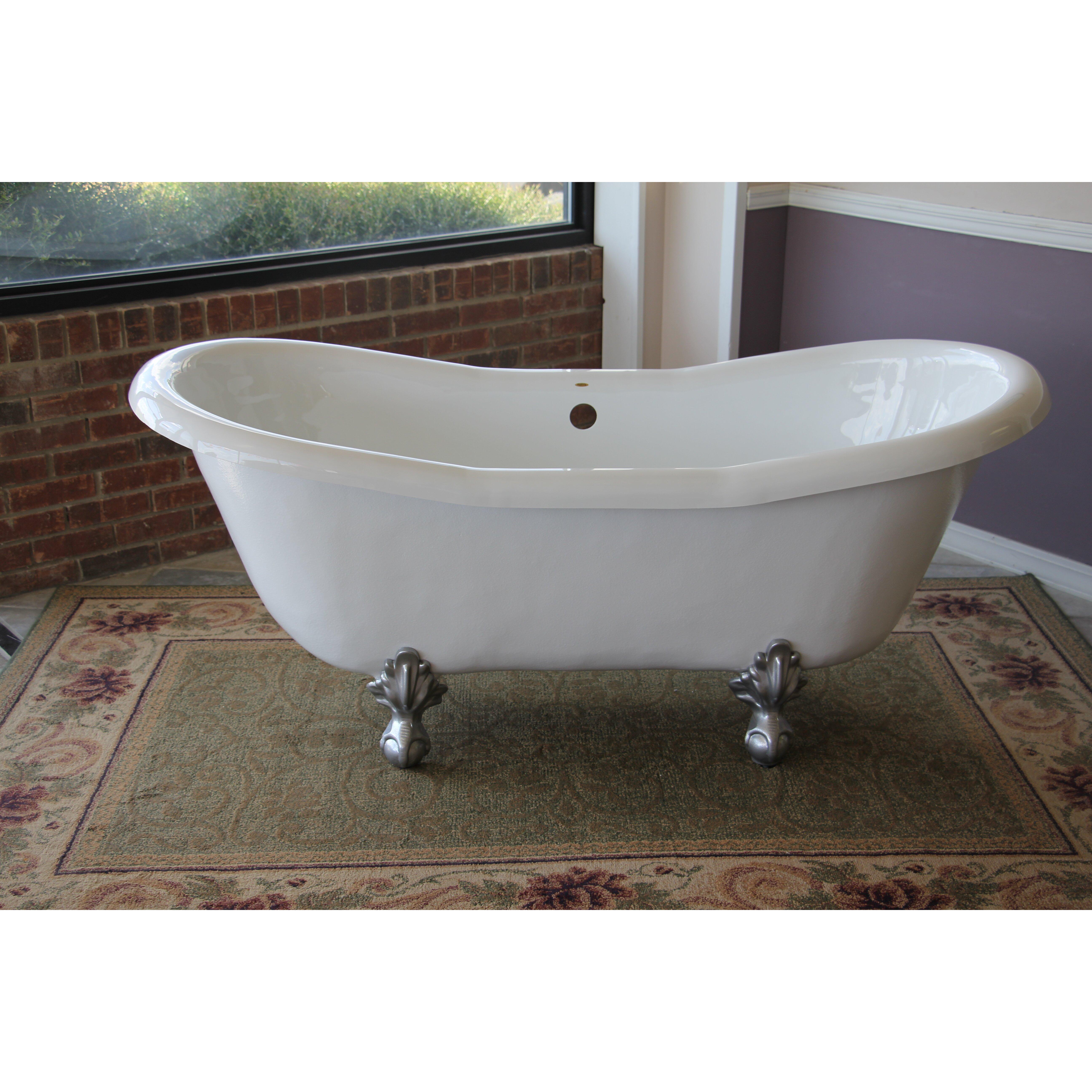 Restoria bathtub company duchess 68 x 30 bathtub for A table restoria