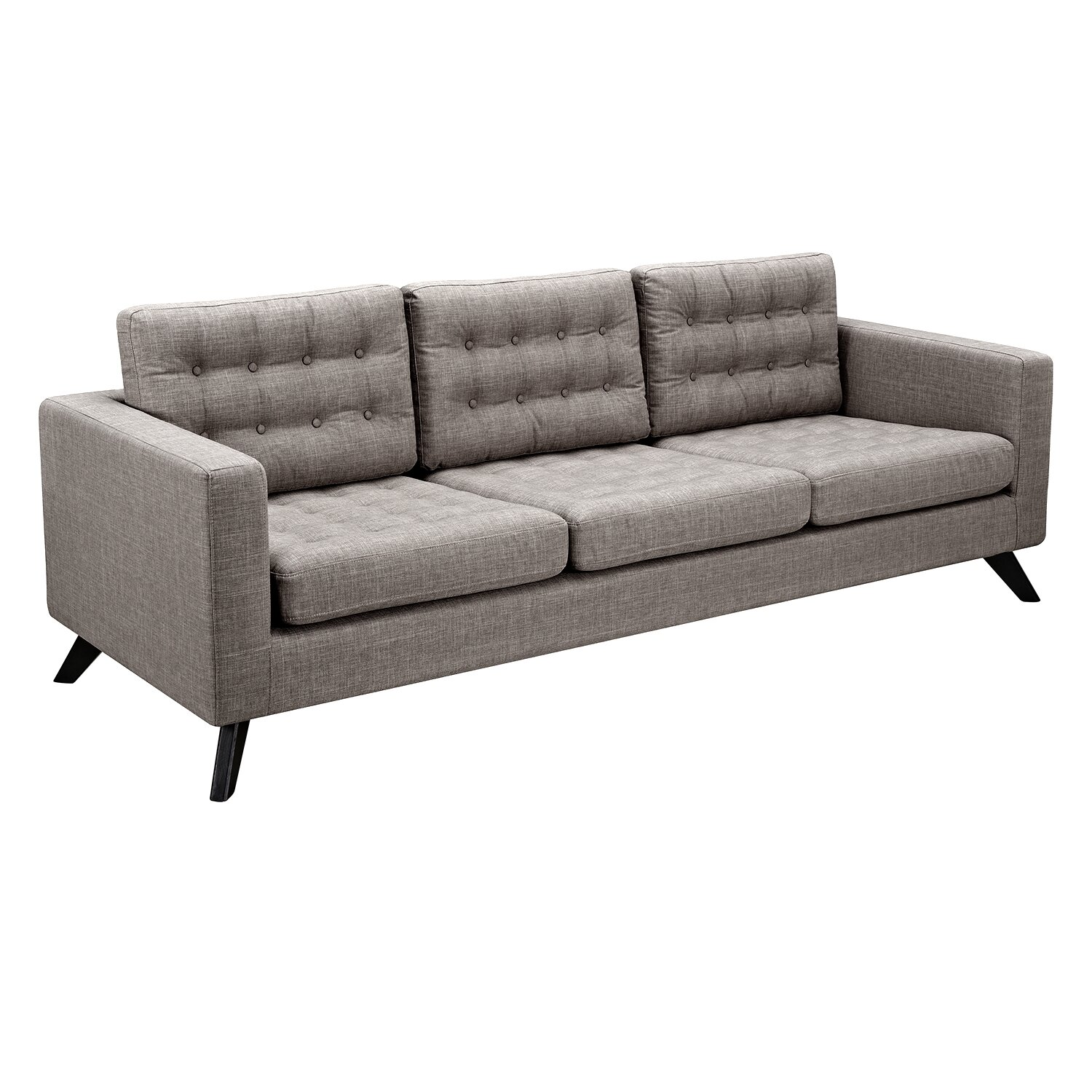 Nyekoncept mina sofa and ottoman reviews wayfair for Sofa ottomane