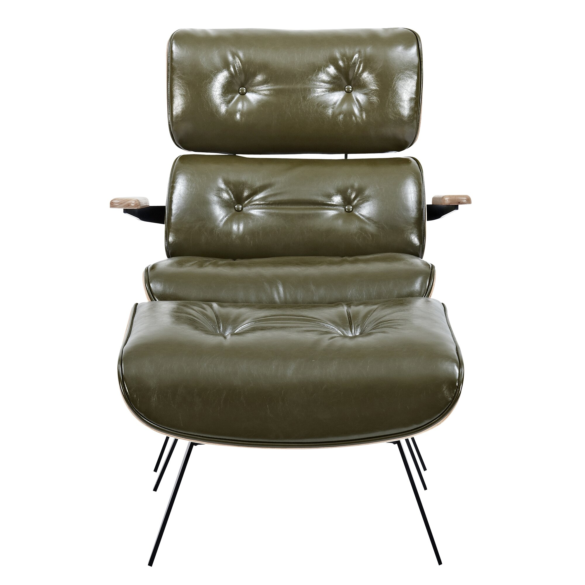 NyeKoncept Eama Lounge Chair with Ottoman