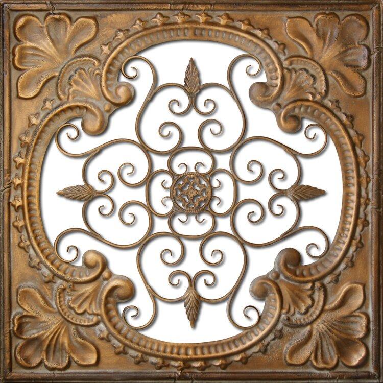 Hdc international metal tin cutout wall decor reviews for International wall decor