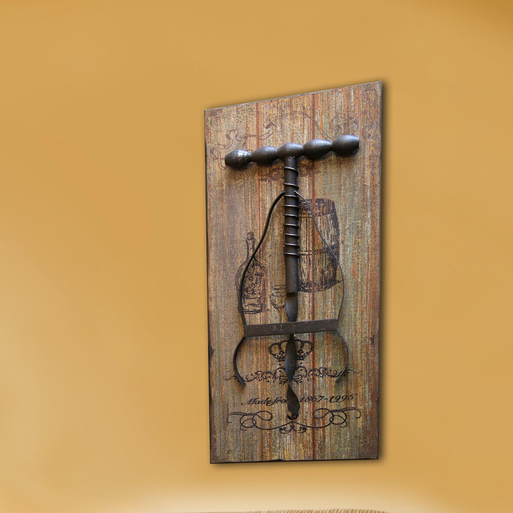 Hdc international cork screw wall decor reviews wayfair for International wall decor