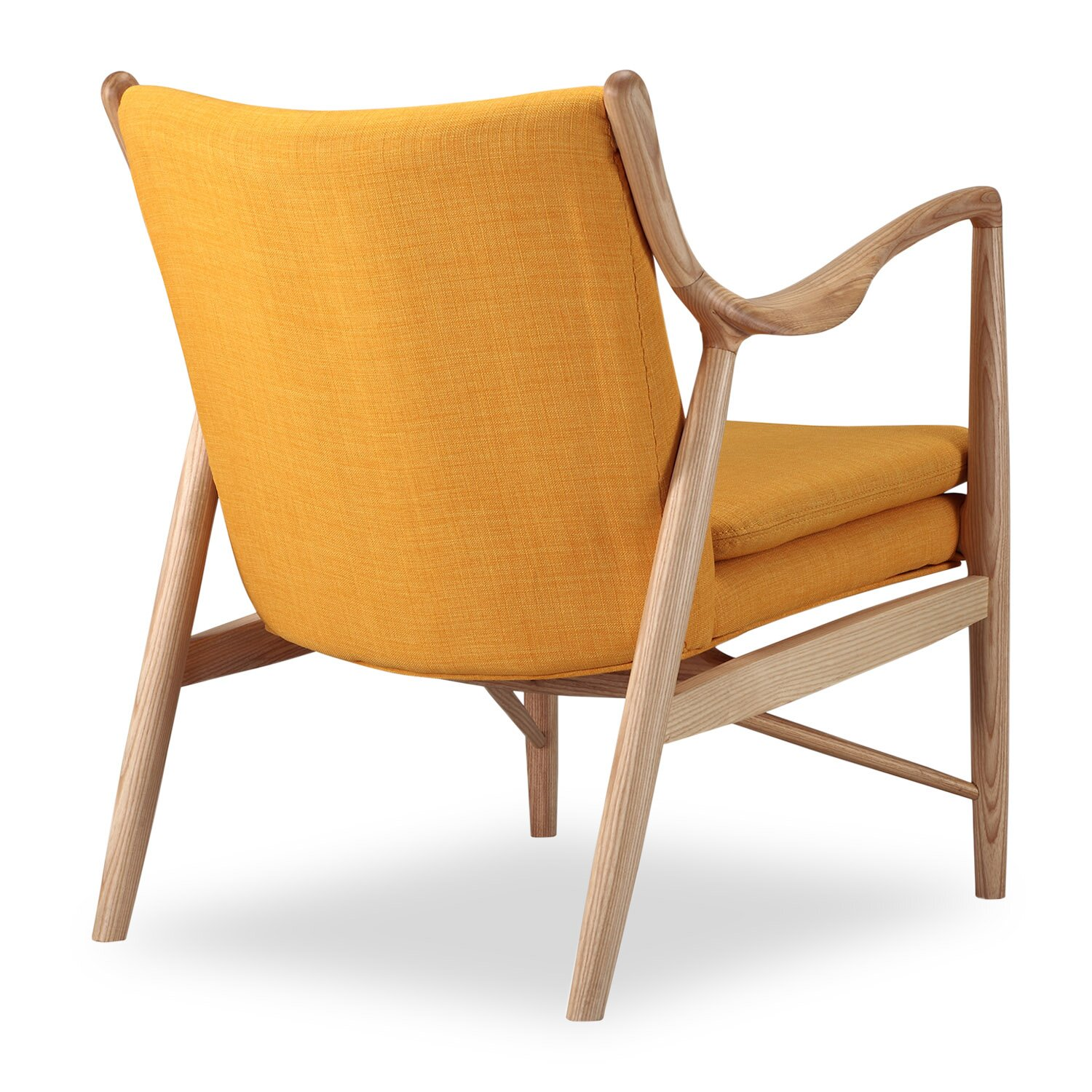 Kardiel copenhagen 45 mid century modern arm chair for Modern arm chair
