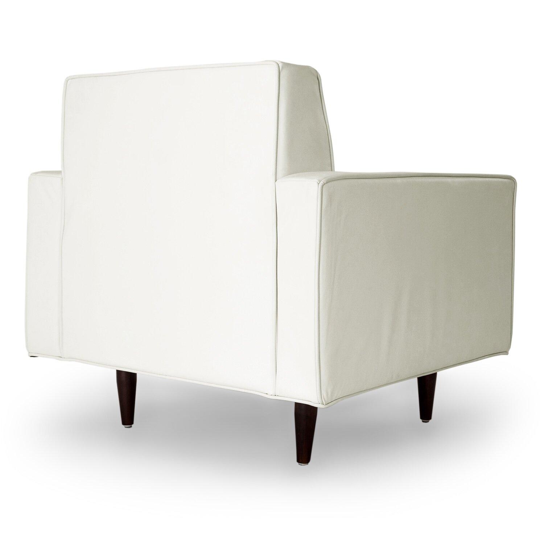 Kardiel eleanor mid century modern arm chair wayfair for Modern arm chair