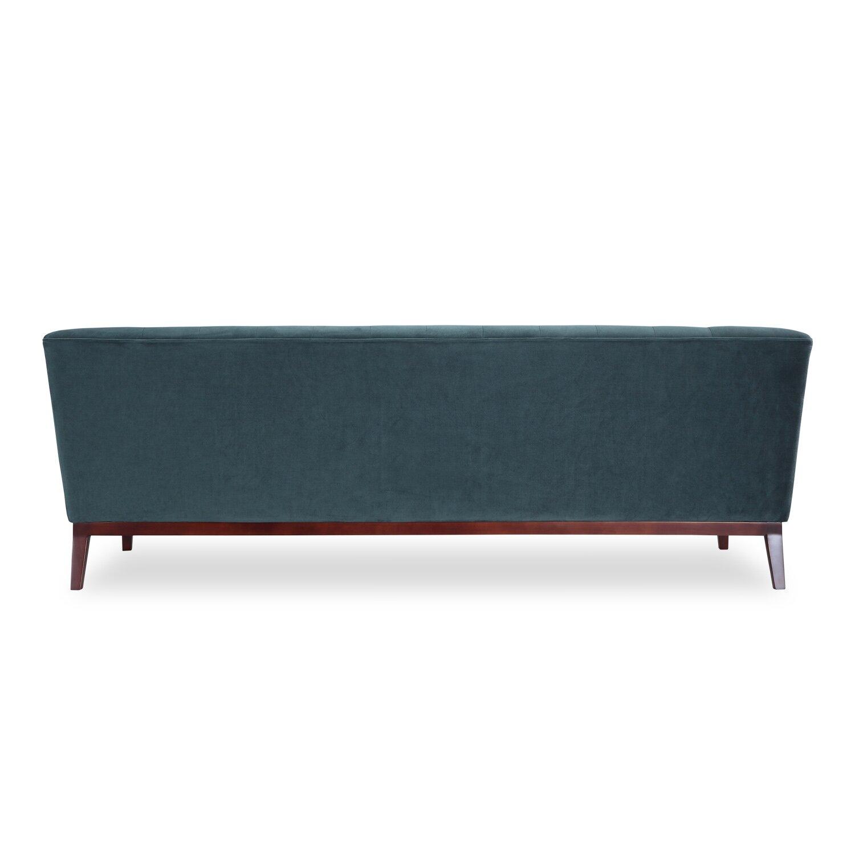 Kardiel Margaret Mid Century Modern English Tufted Sofa