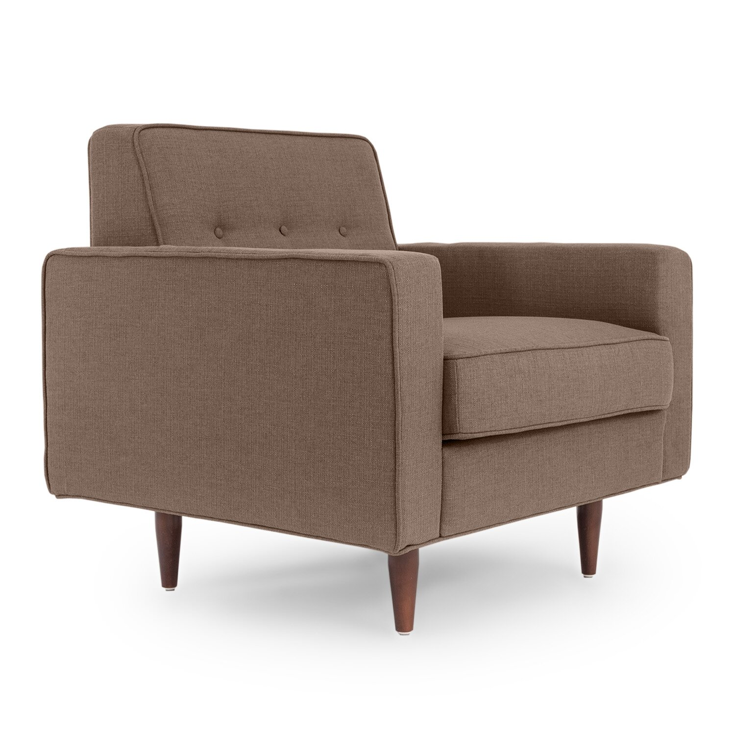 Kardiel eleanor mid century modern arm chair reviews for Modern arm chair