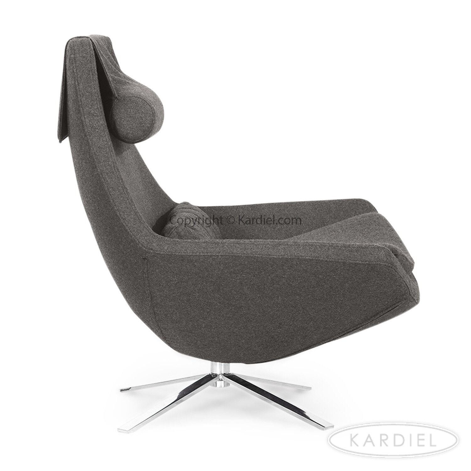 Kar l Retropolitan Modern Wing Lounge Chair & Reviews