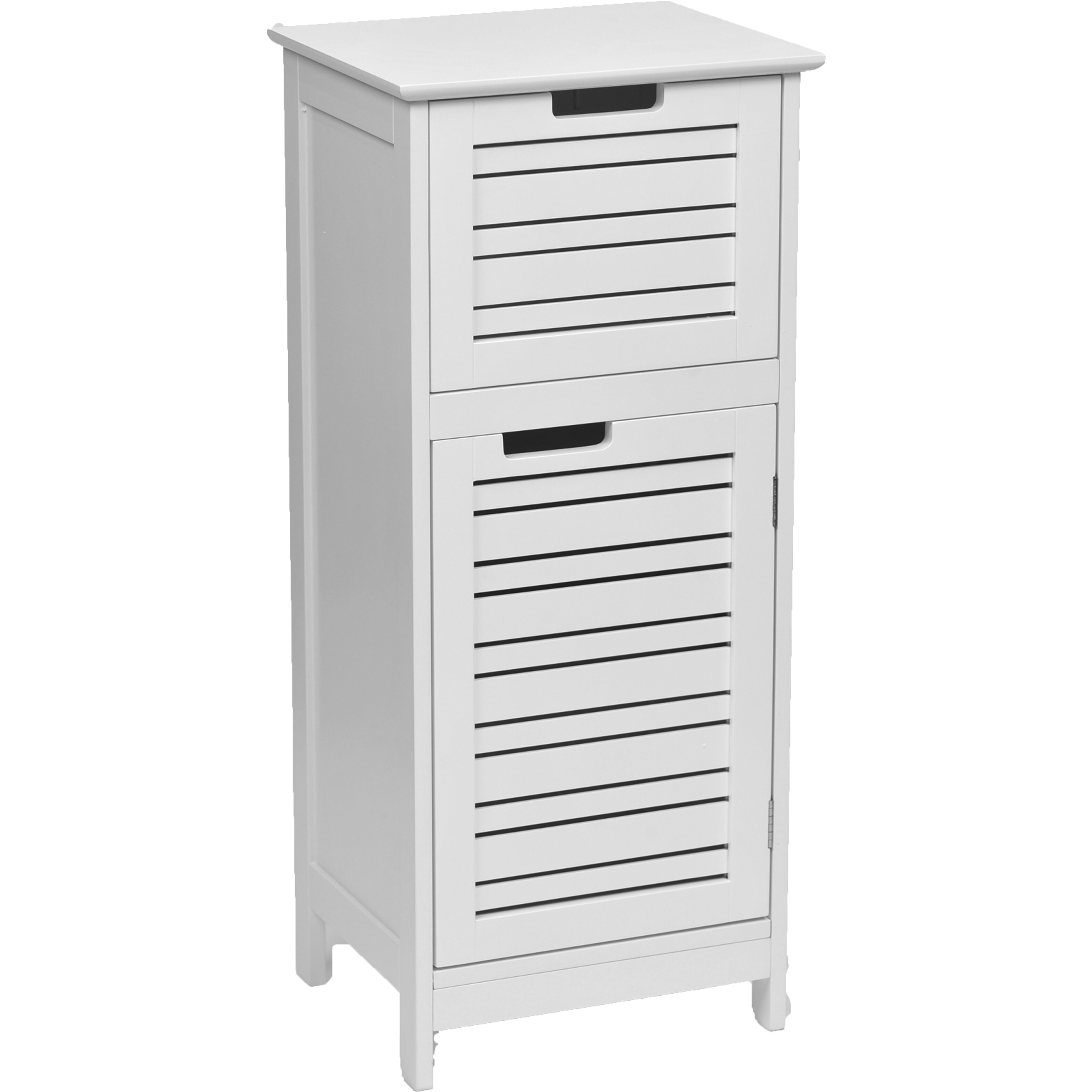 """Wayfair Free Standing Kitchen Cabinets: Evideco Miami 14.4"""" X 32.7"""" Free Standing Cabinet"""