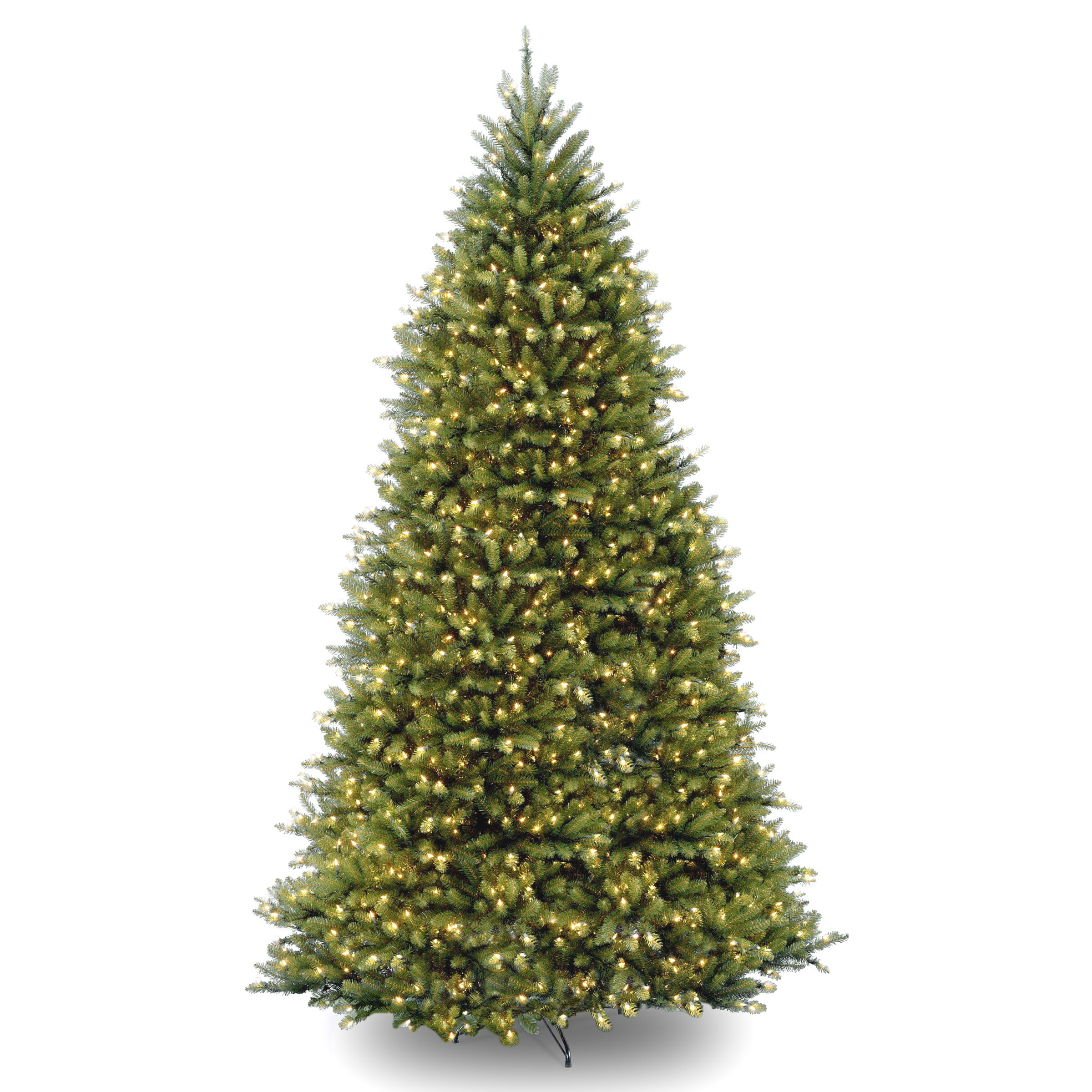 The Holiday Aisle Fir 10' Hinged Green Artificial Christmas Tree ...
