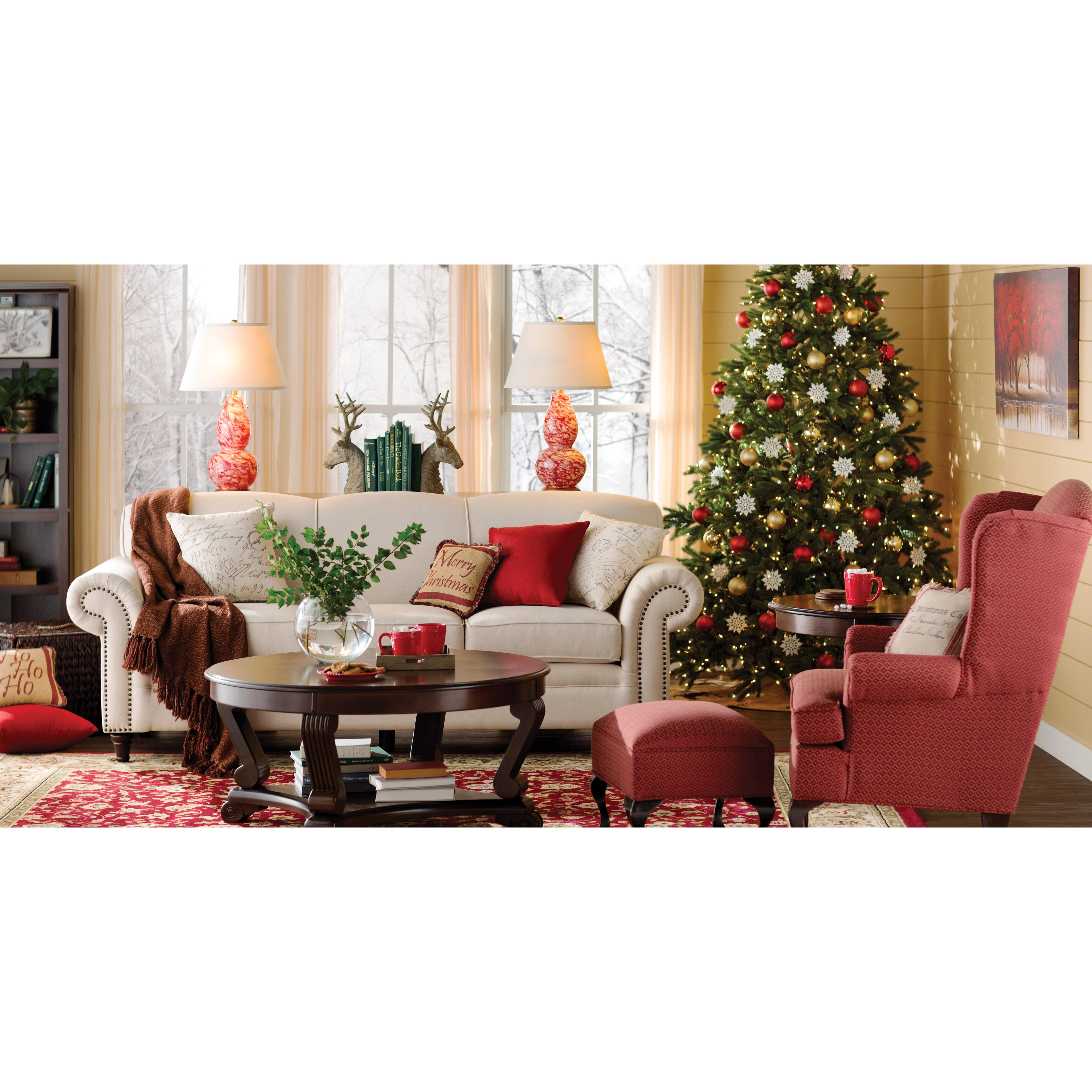 The Holiday Aisle 7.5' Green Artificial Christmas Tree Stand ...