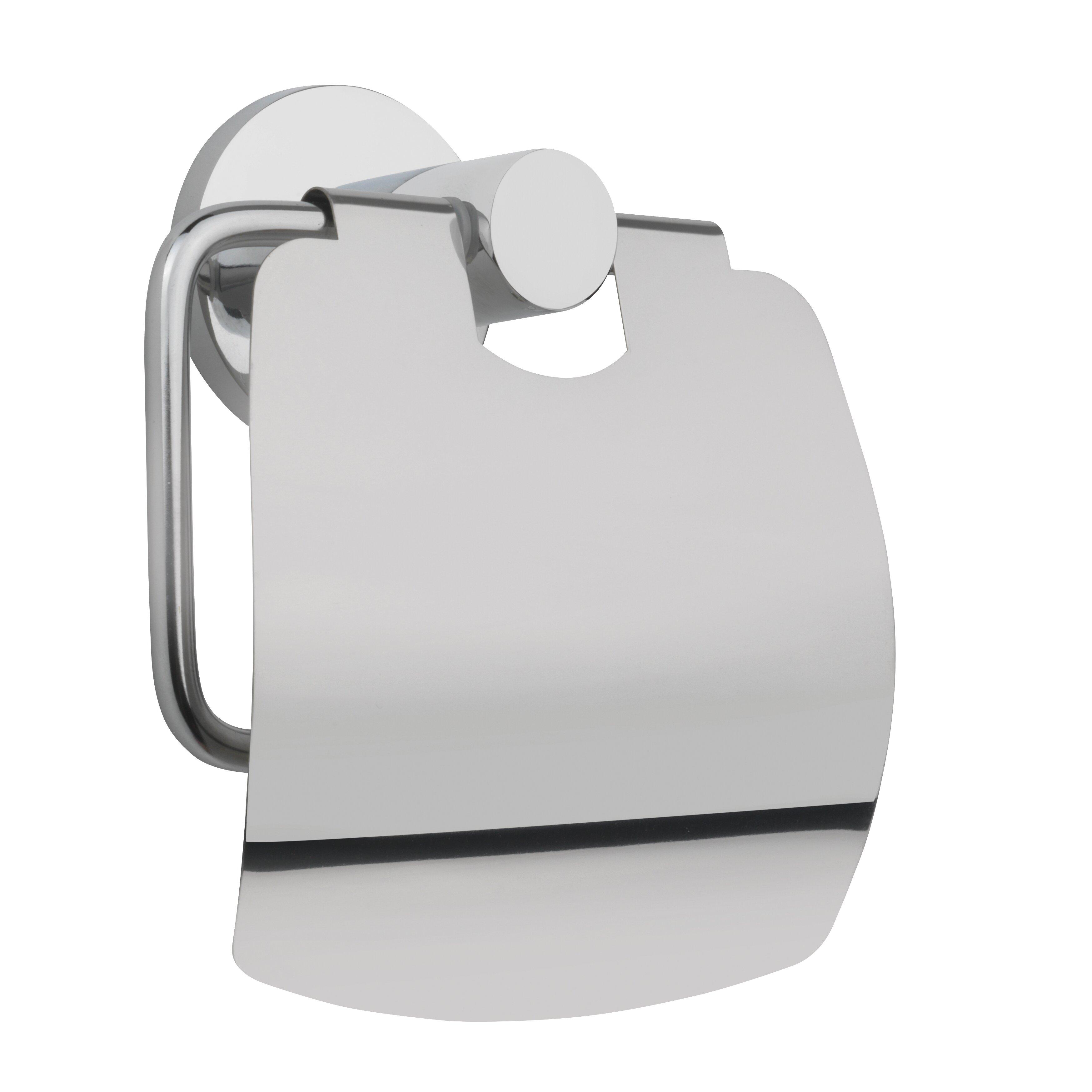 Belfry wall mounted toilet roll holder reviews wayfair uk Glass toilet roll holder