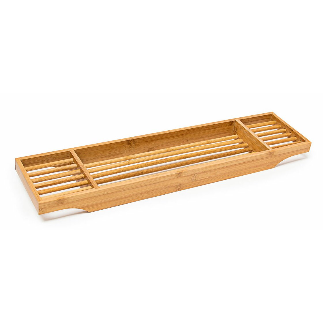Belfry bamboo bath tray reviews wayfair uk for Bathroom tray