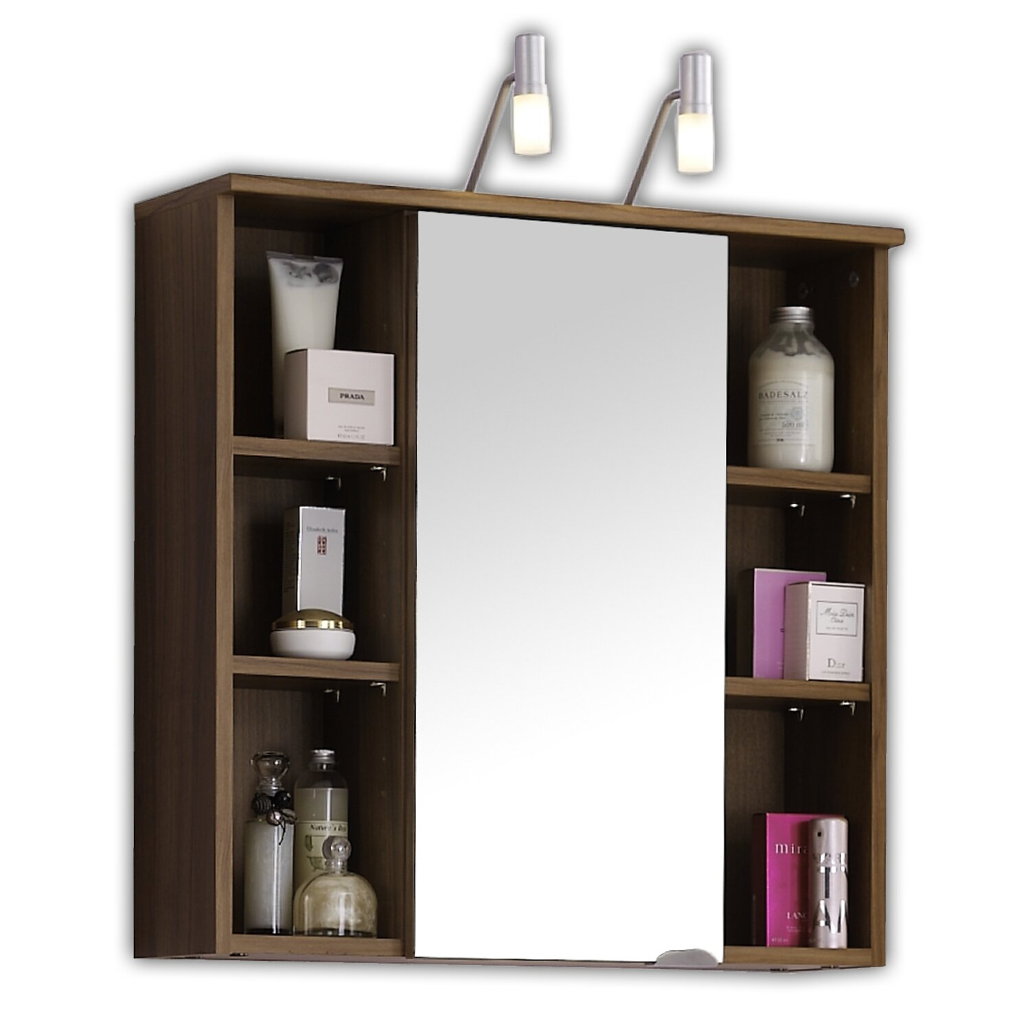 Belfry 68cm x 71cm surface mount flat mirror cabinet for Large flat bathroom mirrors
