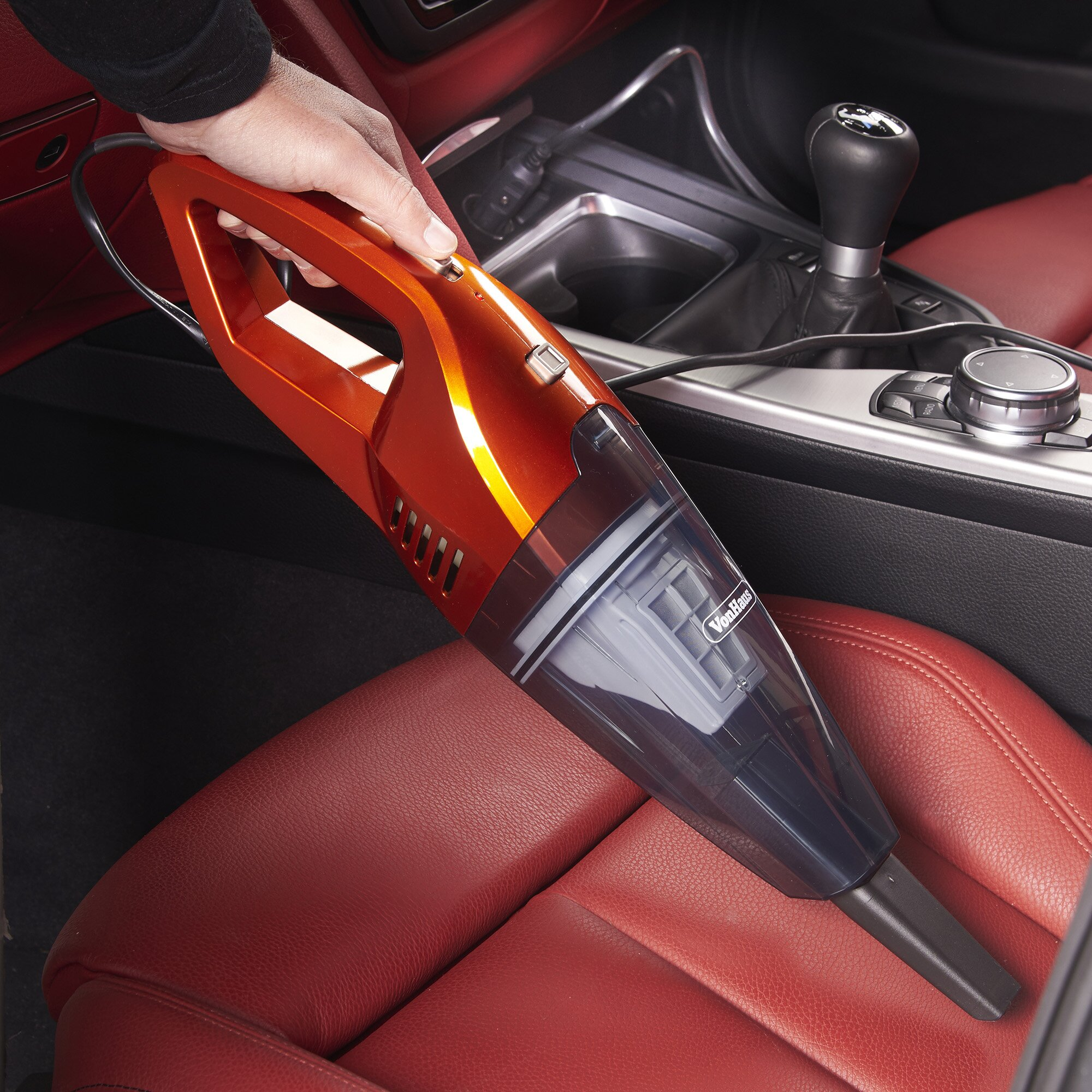 vonhaus 12v car vacuum cleaner reviews wayfair. Black Bedroom Furniture Sets. Home Design Ideas