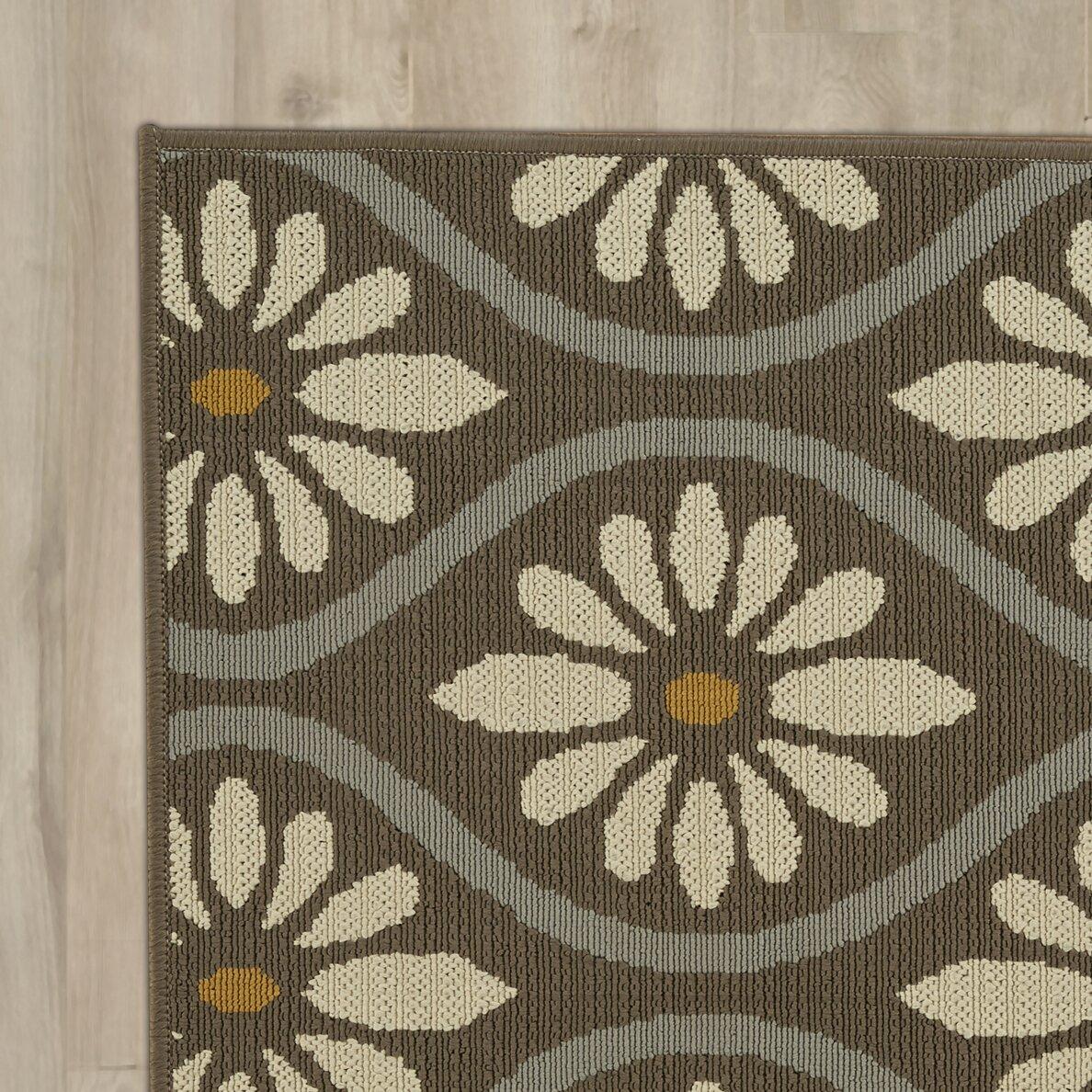 Riley ave remy grey indoor outdoor area rug reviews for Indoor outdoor rugs uk
