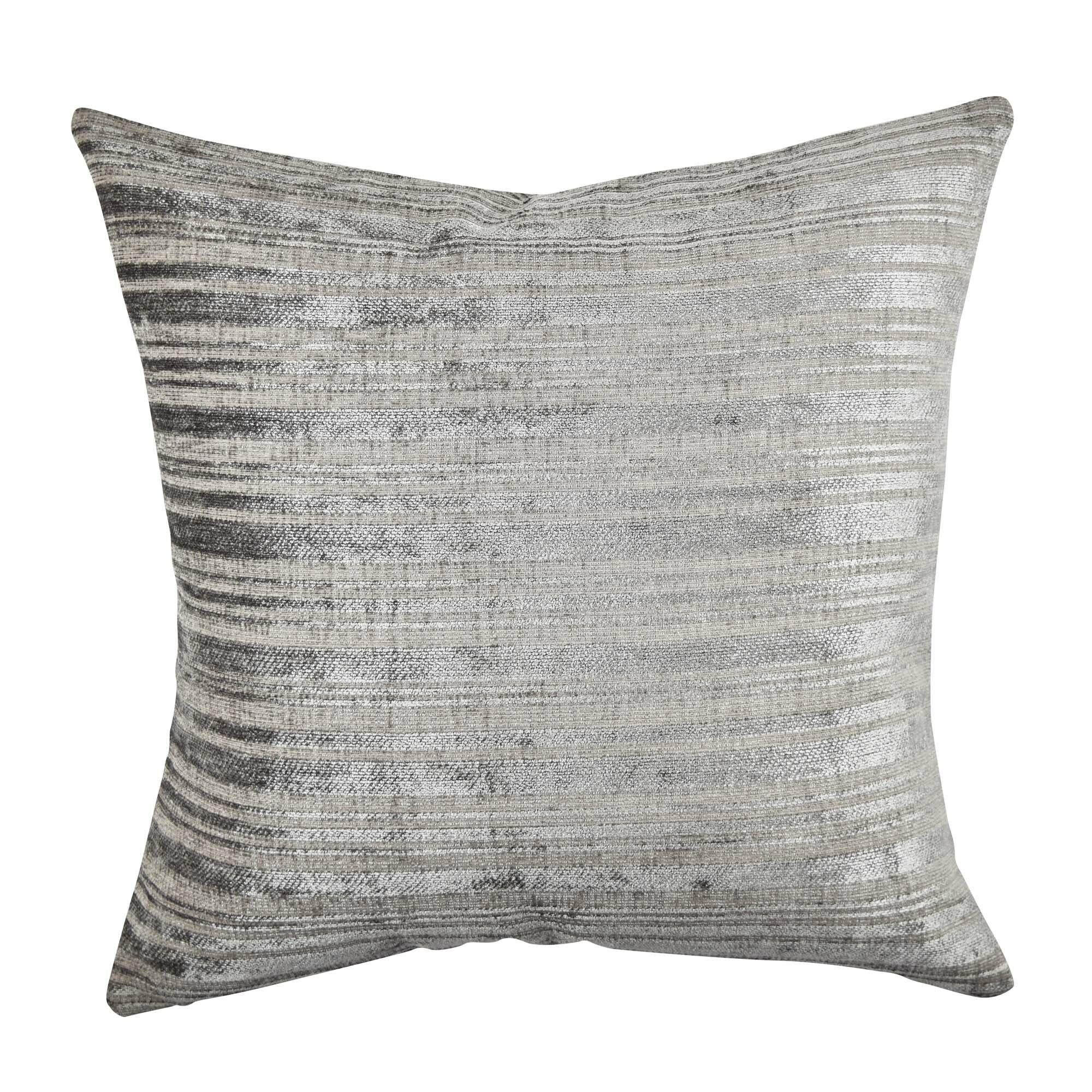 Vesper lane stripe designer fabric throw pillow wayfair - Fabric for throw pillows ...
