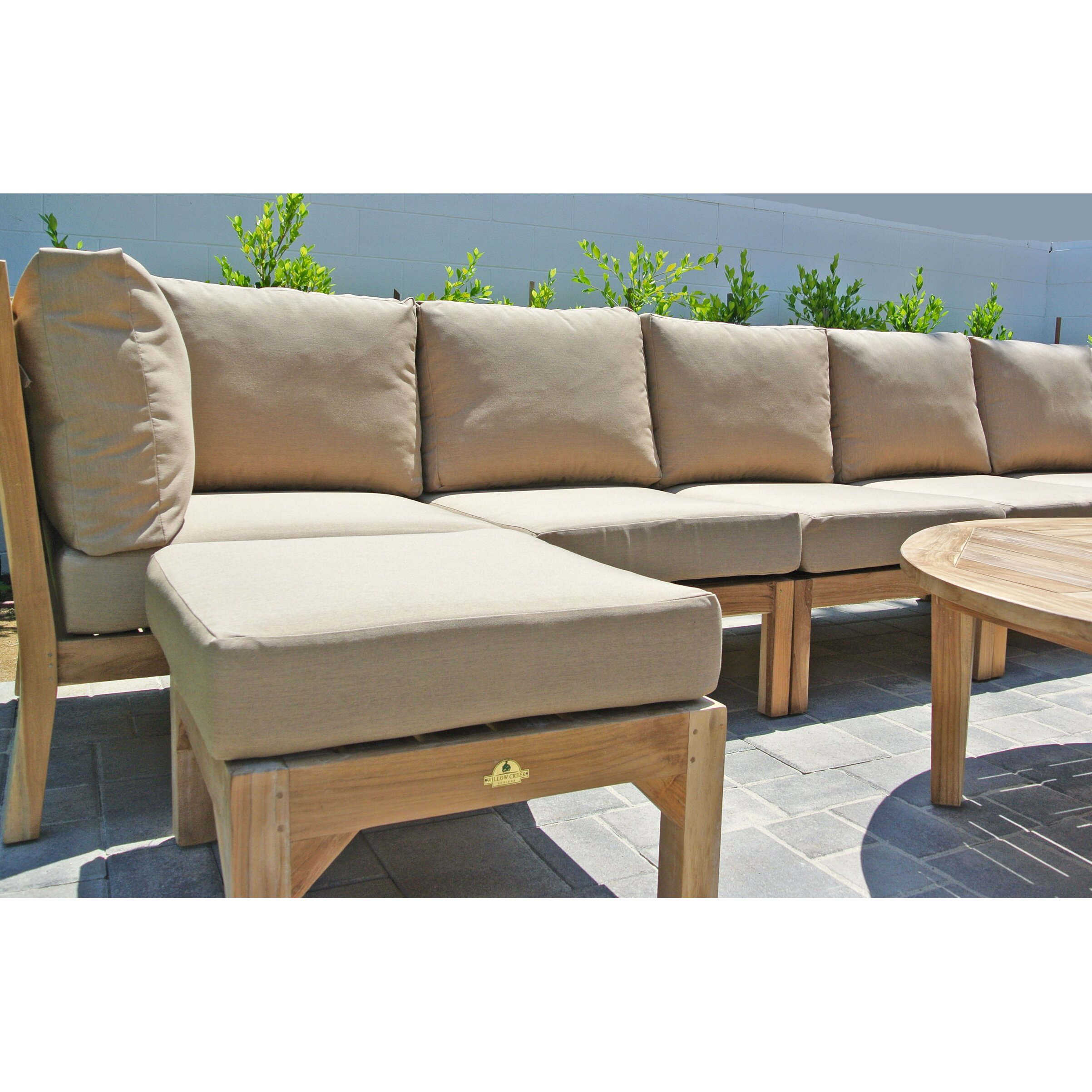 Willow creek designs huntington 3 piece deep seating group for Willow creek designs