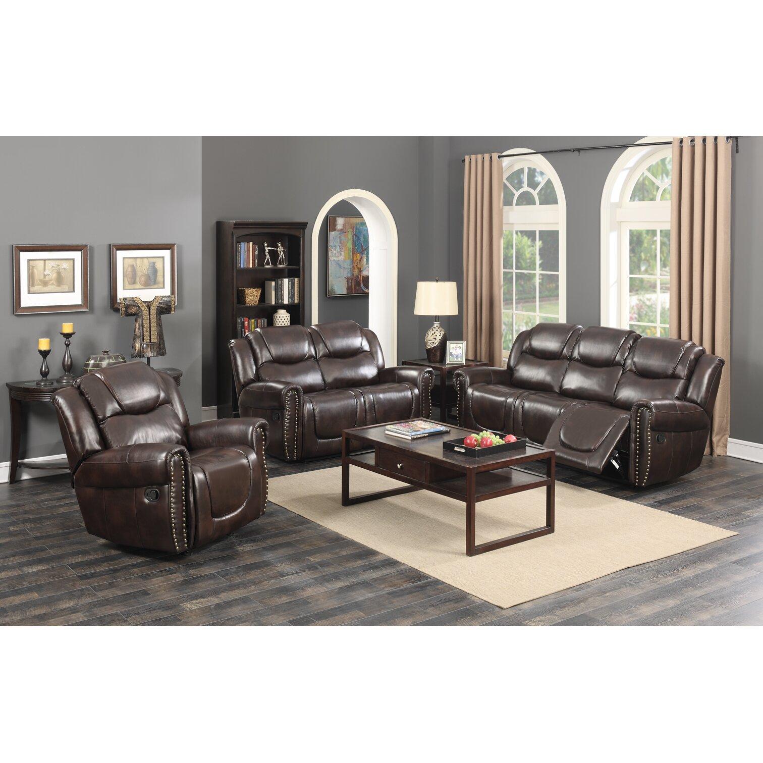 Living In Style Castrol Living Room Reclining Sofa Wayfair