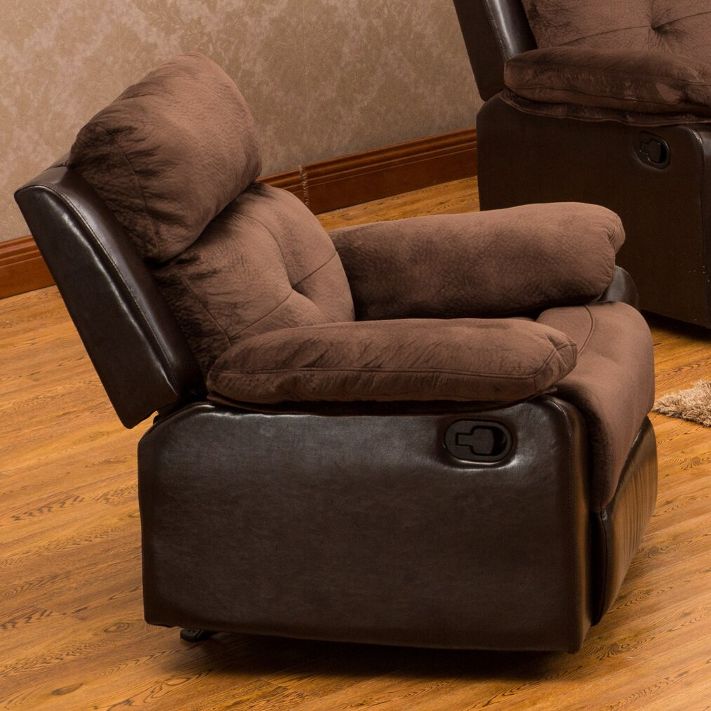 Living in style sherry rocking recliner reviews wayfair - Stylish rocker recliner ...