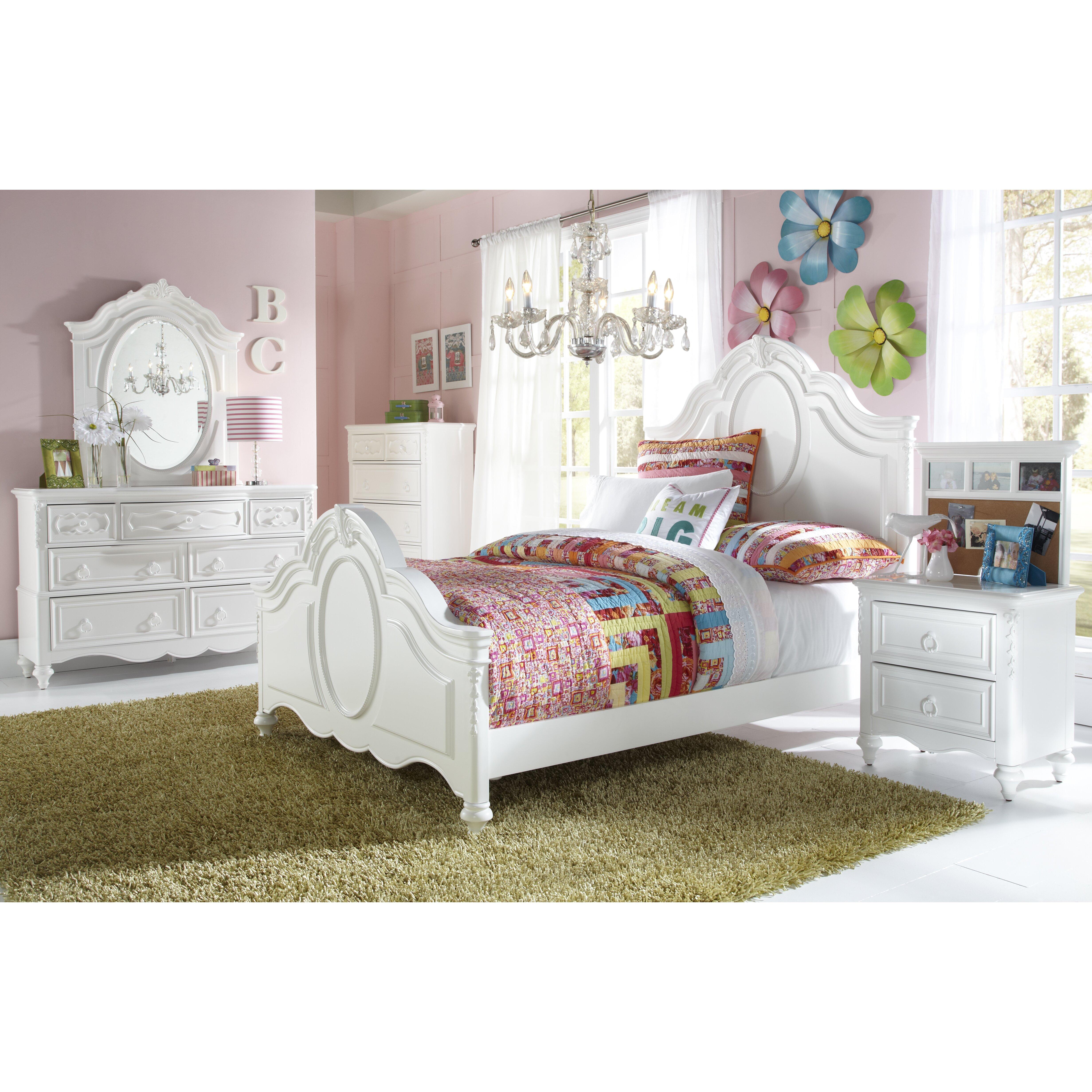 samuel lawrence sweet heart panel customizable bedroom set