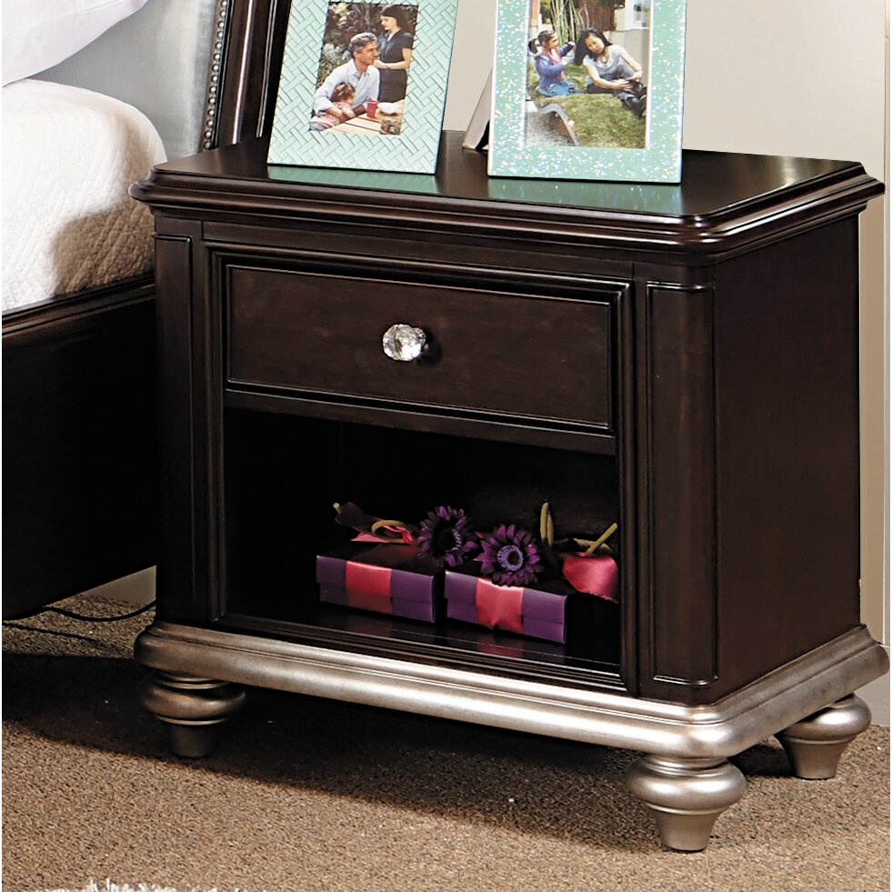Samuel Lawrence Girls Glam Panel Customizable Bedroom Set