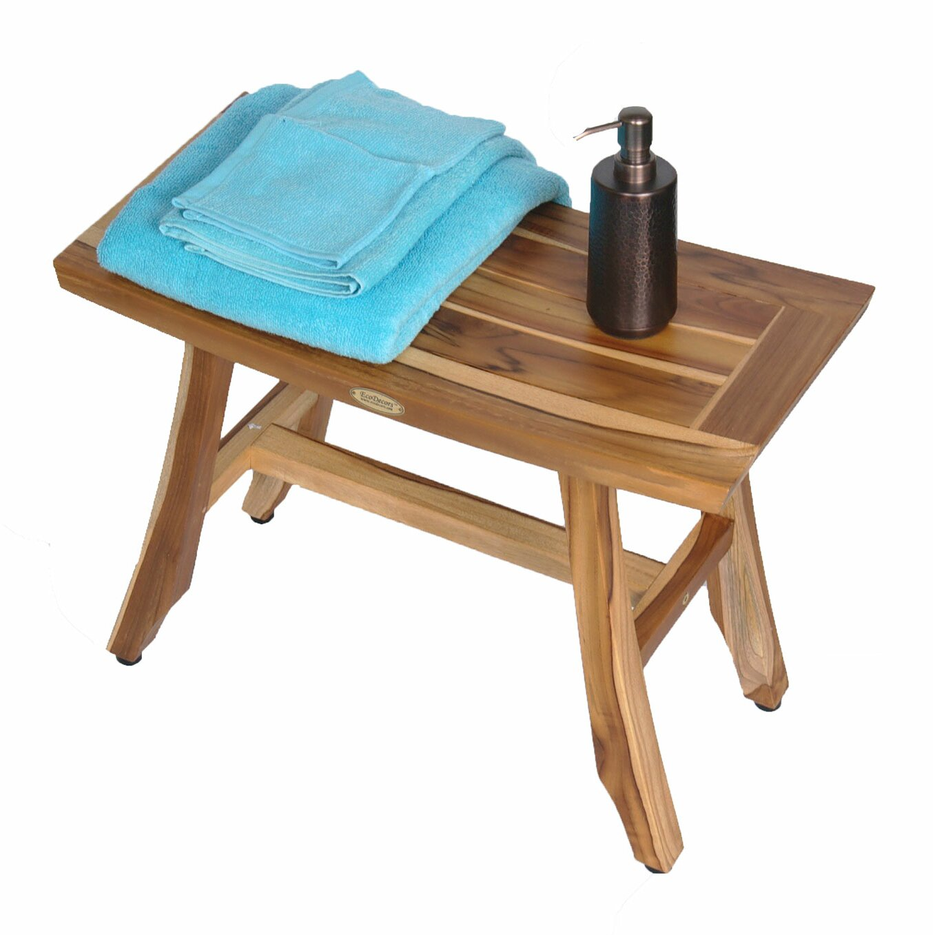 Ecodecors Satori Wood Shower Bench Reviews Wayfair