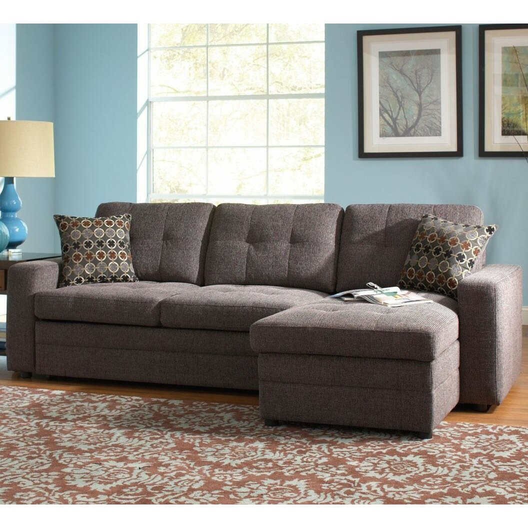 Infini furnishings sleeper sectional reviews wayfair for Wayfair furniture sectional sofa